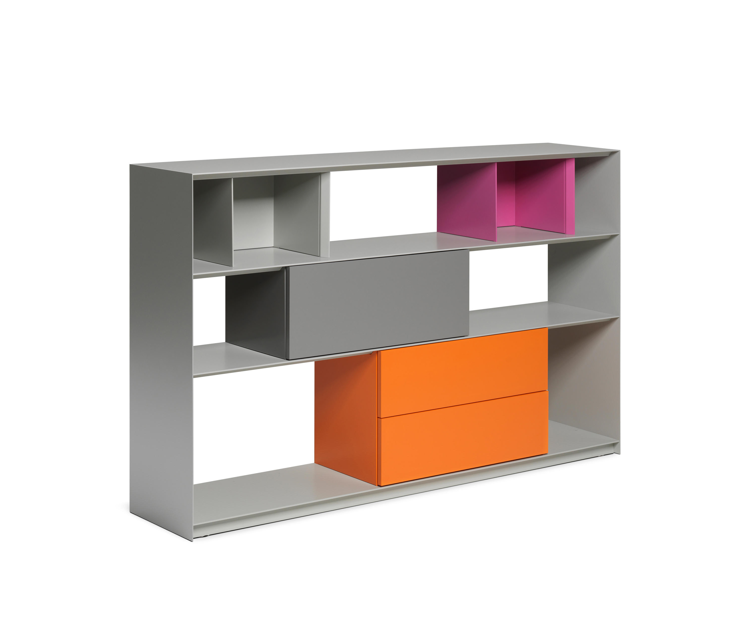 Stack shelfsystem sideboards from m ller for Sideboard raumteiler