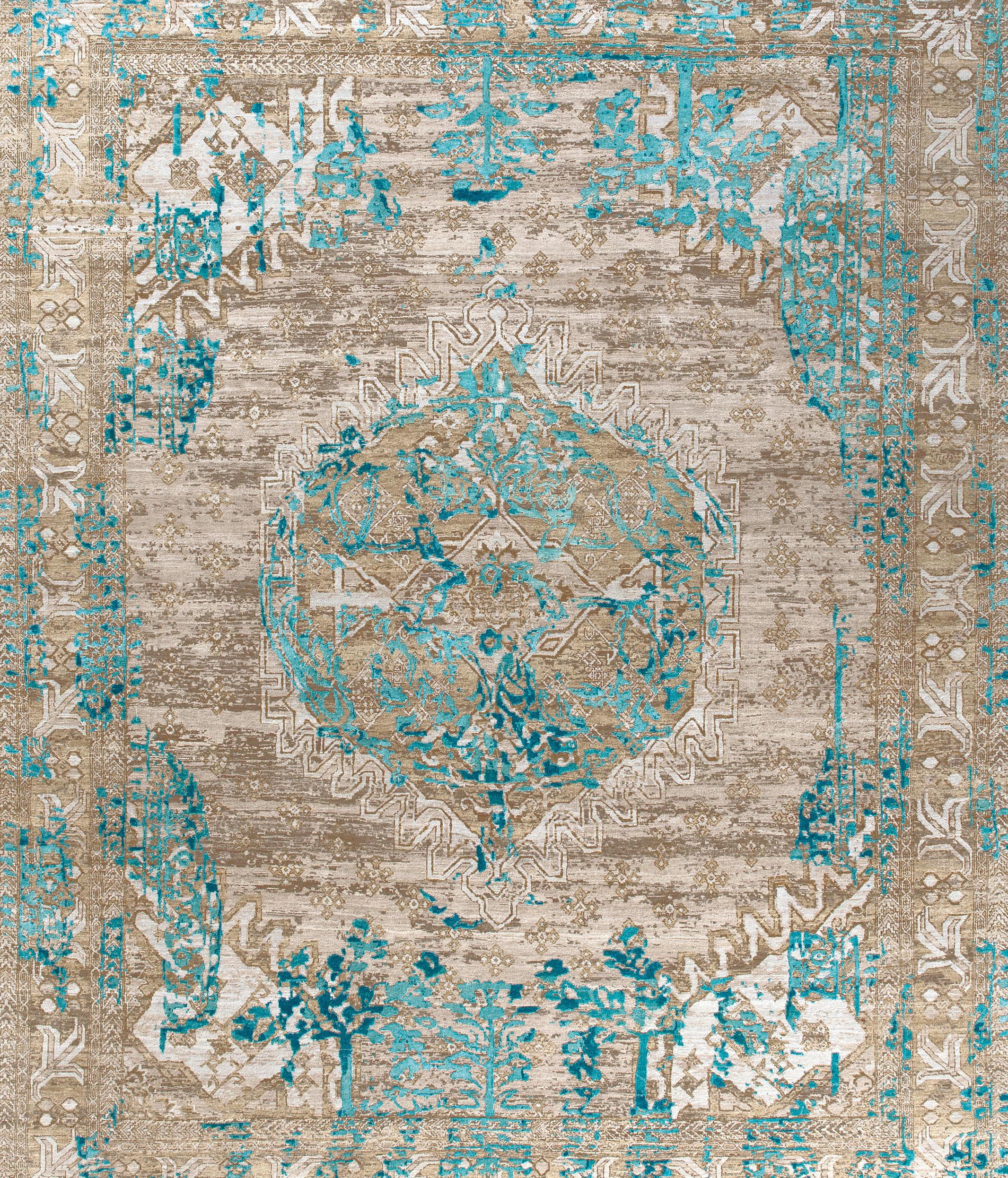 Mystique Turquoise By THIBAULT VAN RENNE