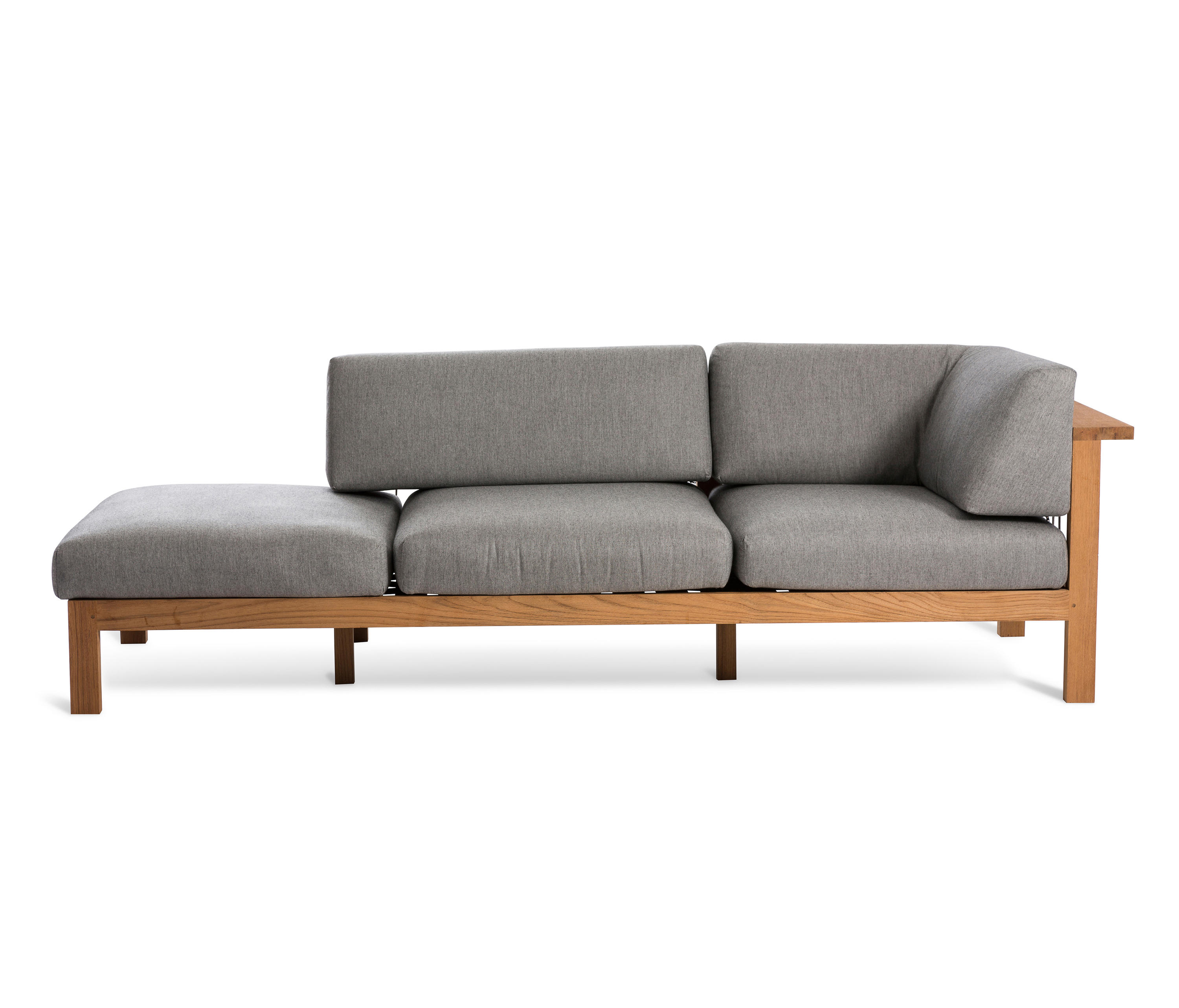 Maro chaise longue arm right garden sofas by oasiq for Sofas y chaise longue