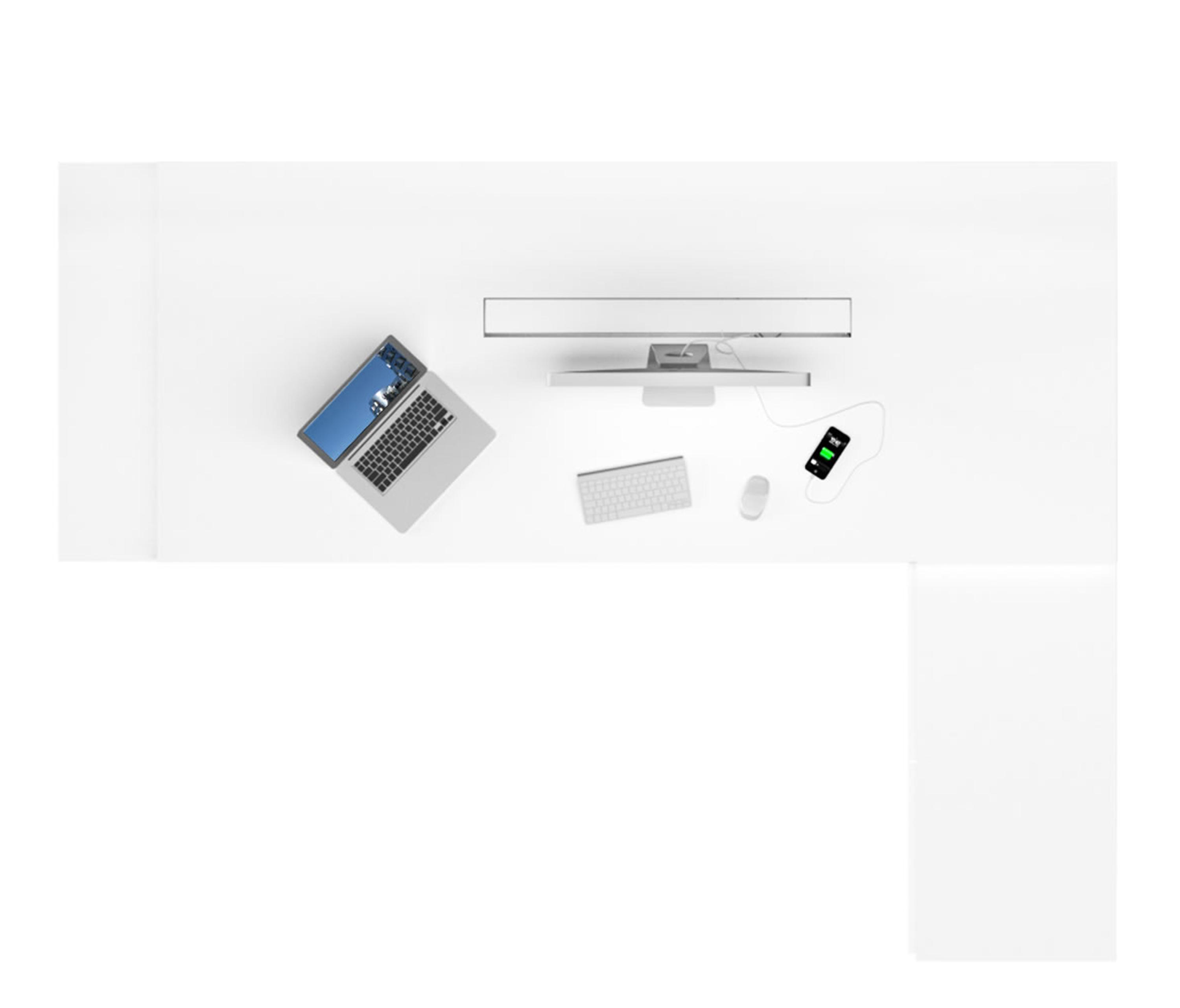 ... PRAEFECTUS Executive Office Desk With 2 Sideboards By Rechteck |  Individual Desks ...