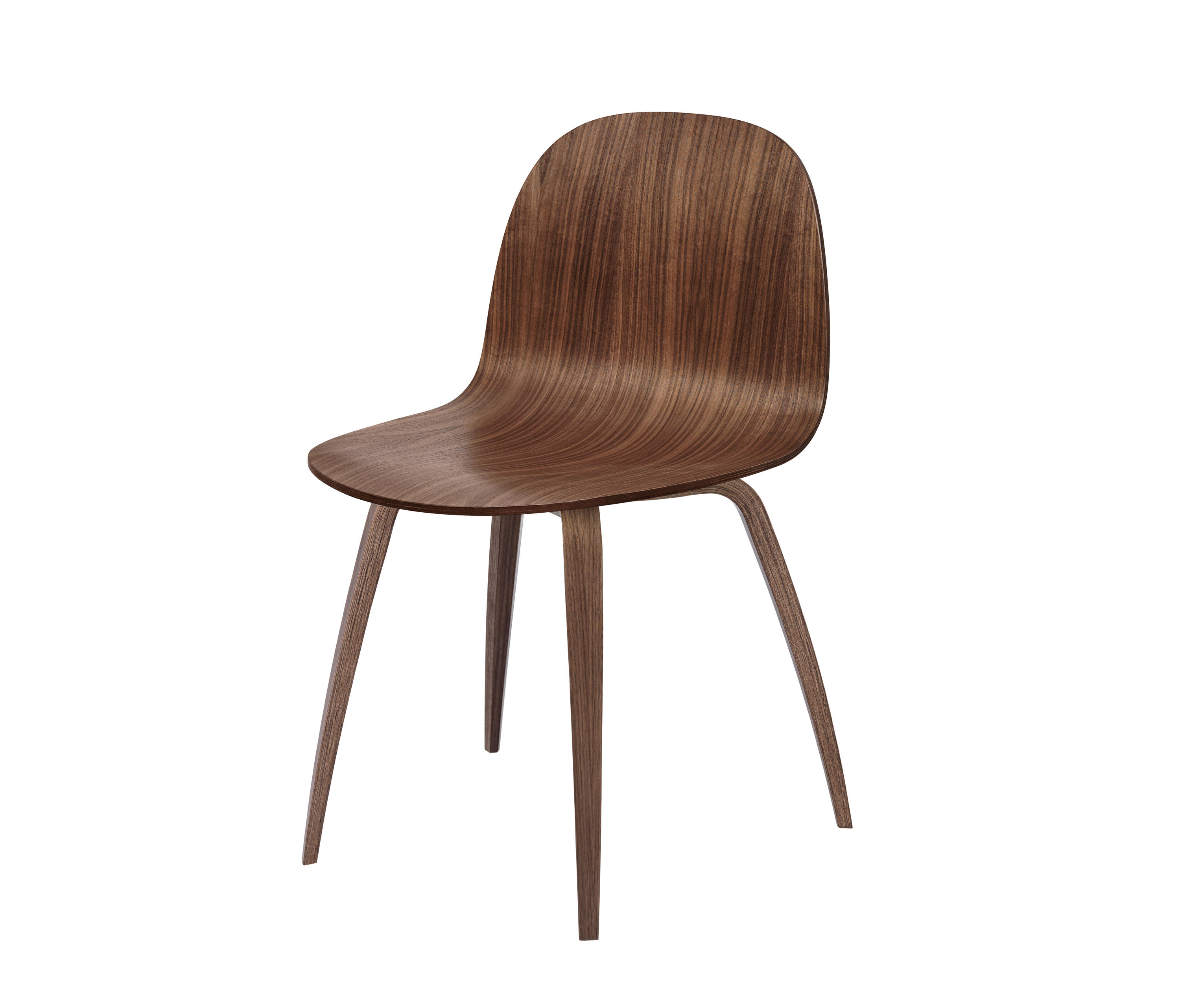 Wood Base Chairs ~ Gubi d chair wood base chairs from architonic