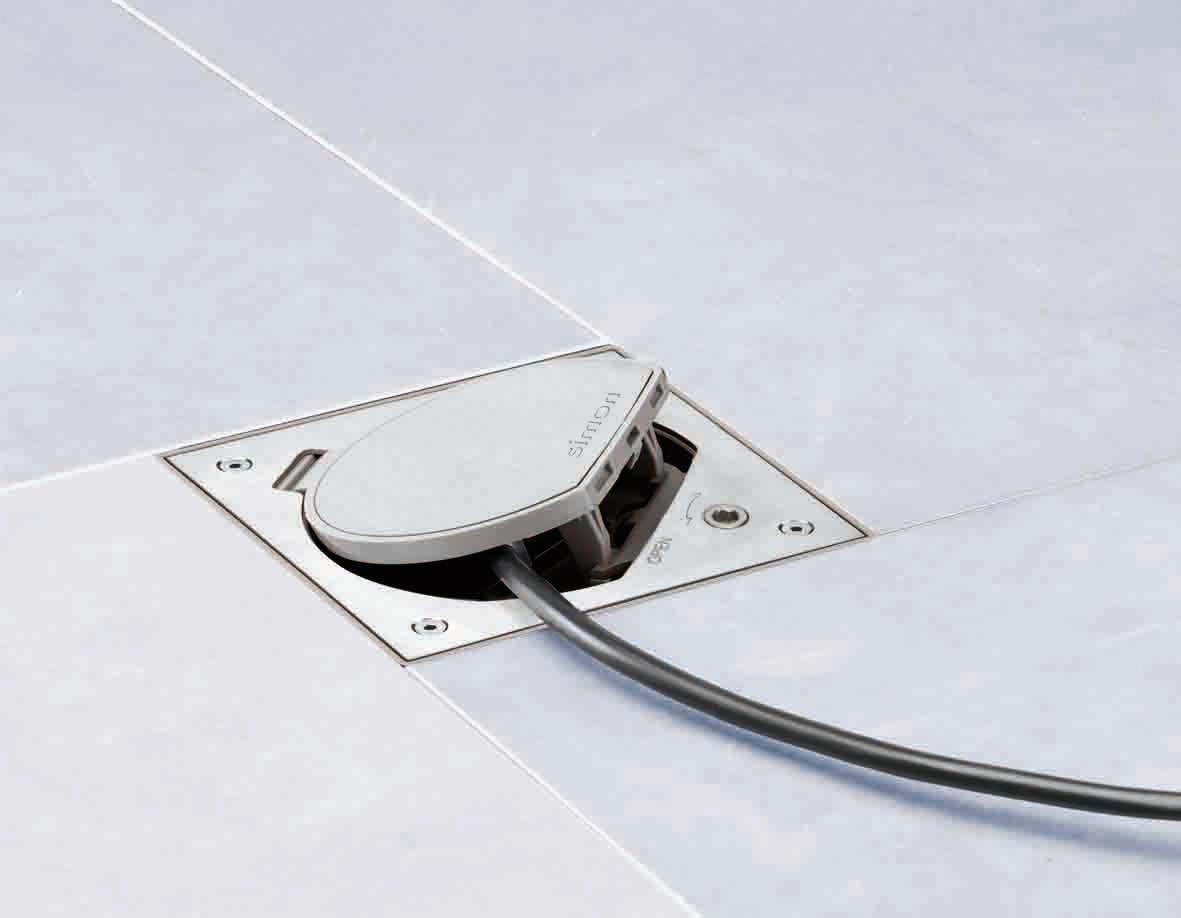 K45 Waterproof Floor Box Ip 66