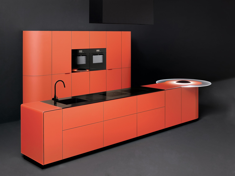 Argento vivo cucina cucine a parete ged arredamenti srl architonic - Cucine a parete ...