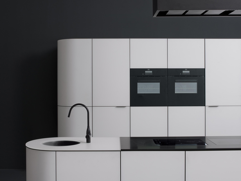 Argento vivo cucina cucine a parete ged arredamenti for Profili arredamenti