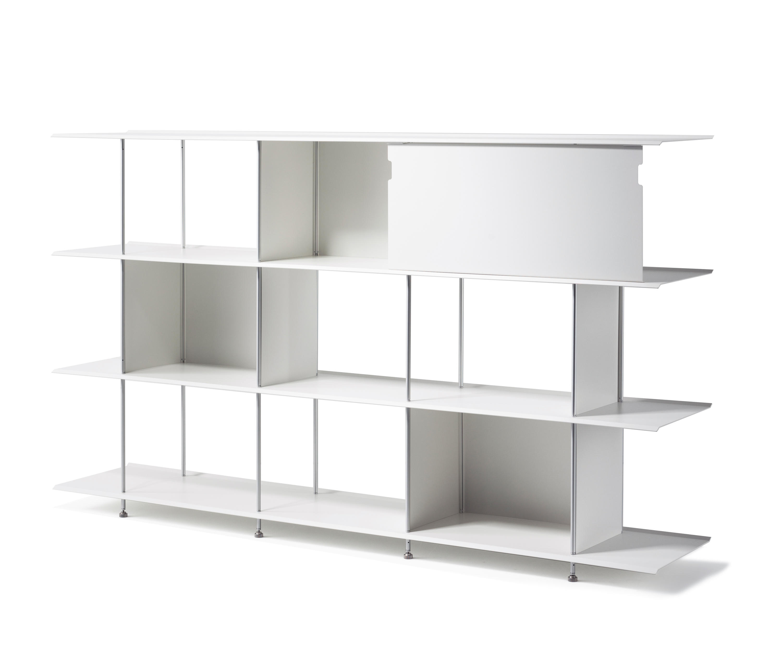 office shelving systems. Zeta Aluminium By OXIT Design | Office Shelving Systems