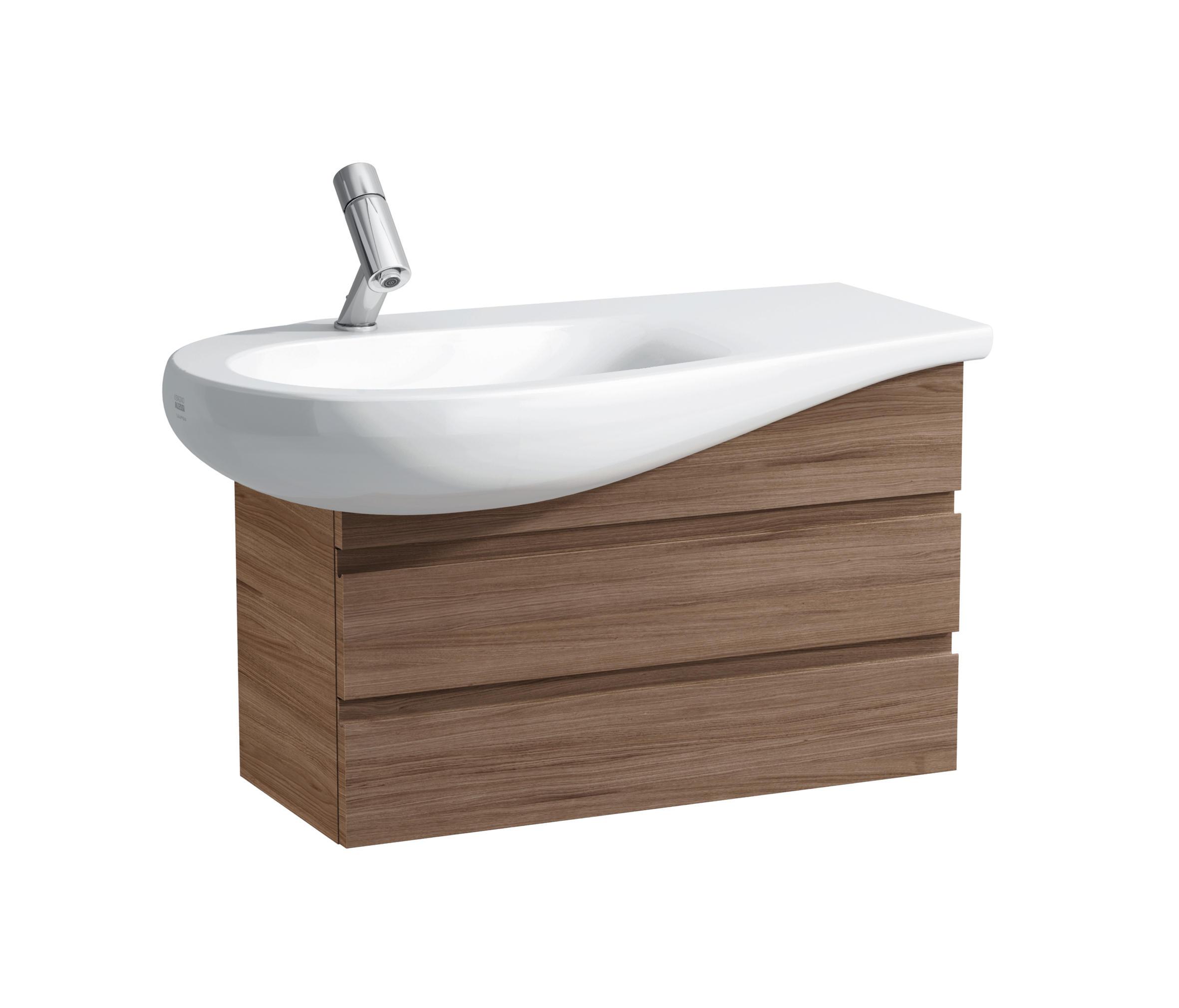 Ilbagnoalessi one lavabo poser sur meuble lavabos de for Lavabo sur meuble