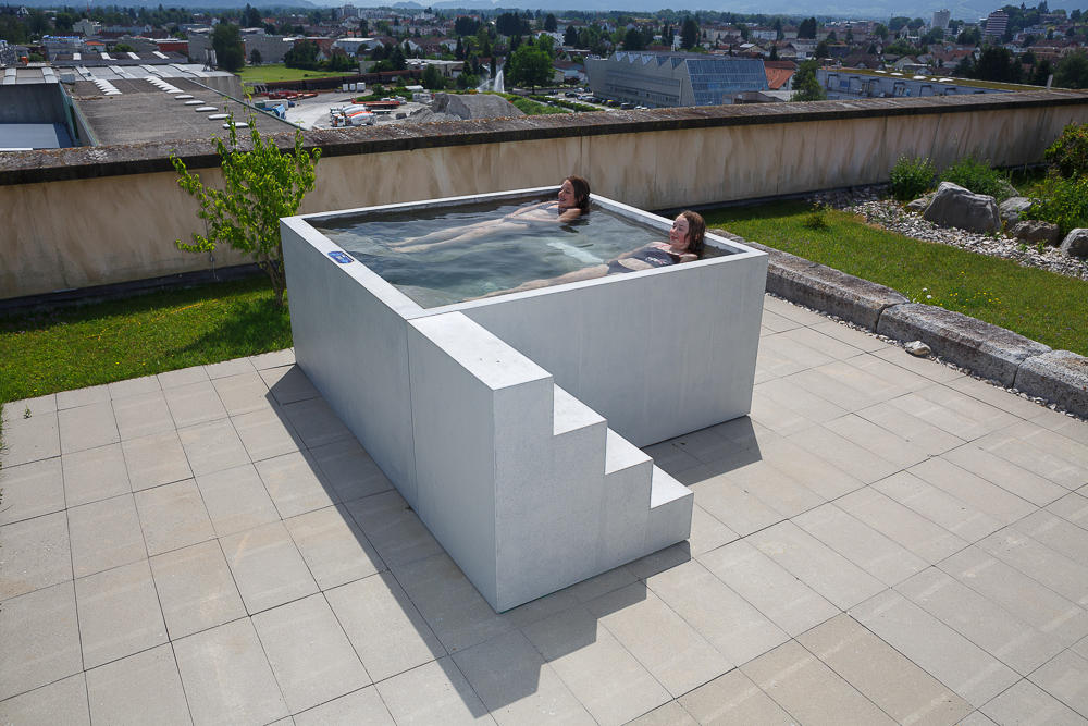 Concrete In Bath| Design Examples By Dade Design AG Concrete Works Beton |  Outdoor Whirlpools