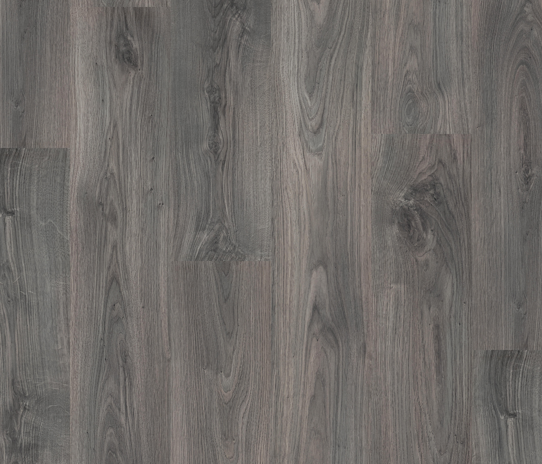 Classic Plank Dark Grey Oak Laminate Flooring From Pergo