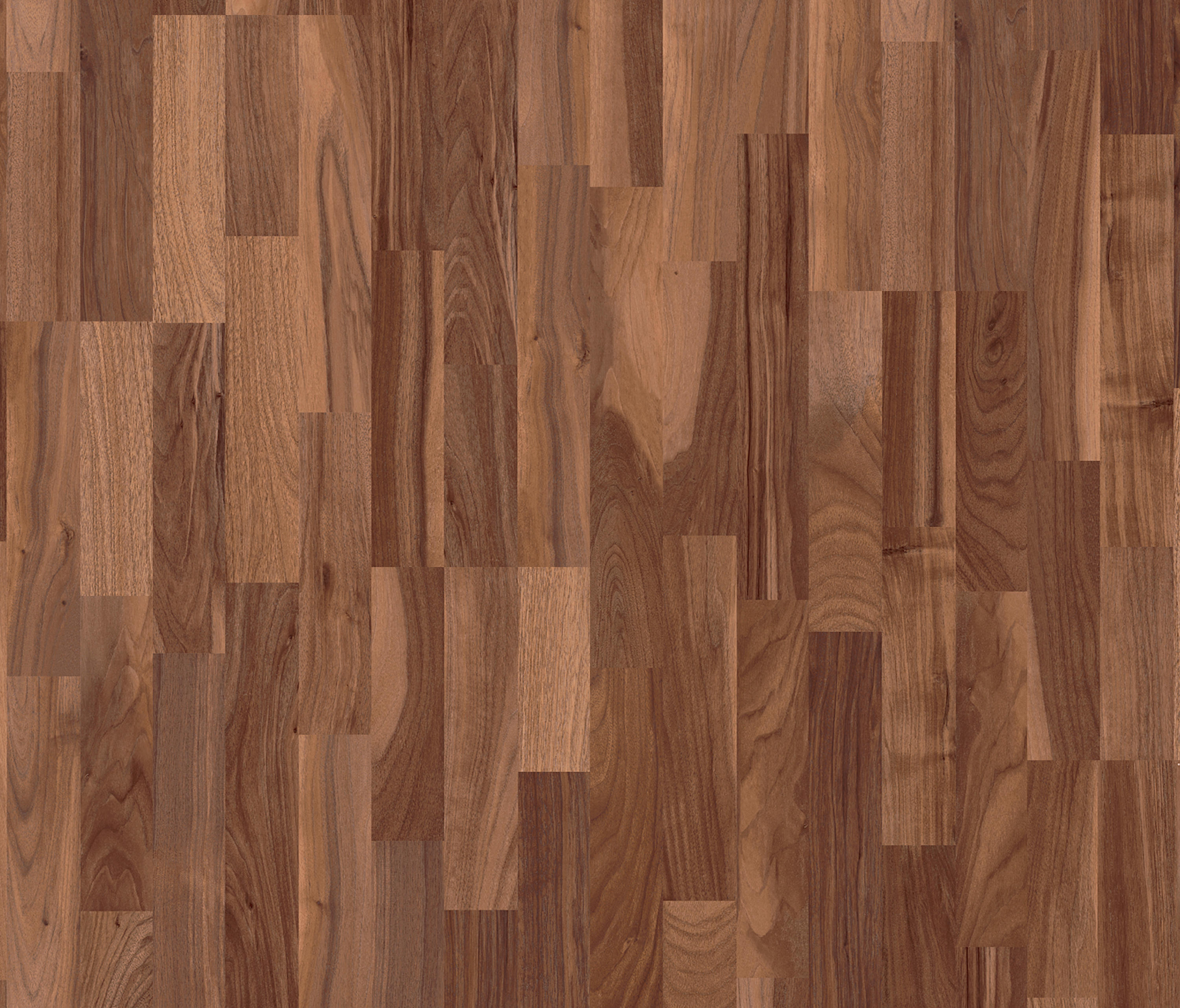 Domestic Extra Walnut 3 Strip Laminate Flooring From