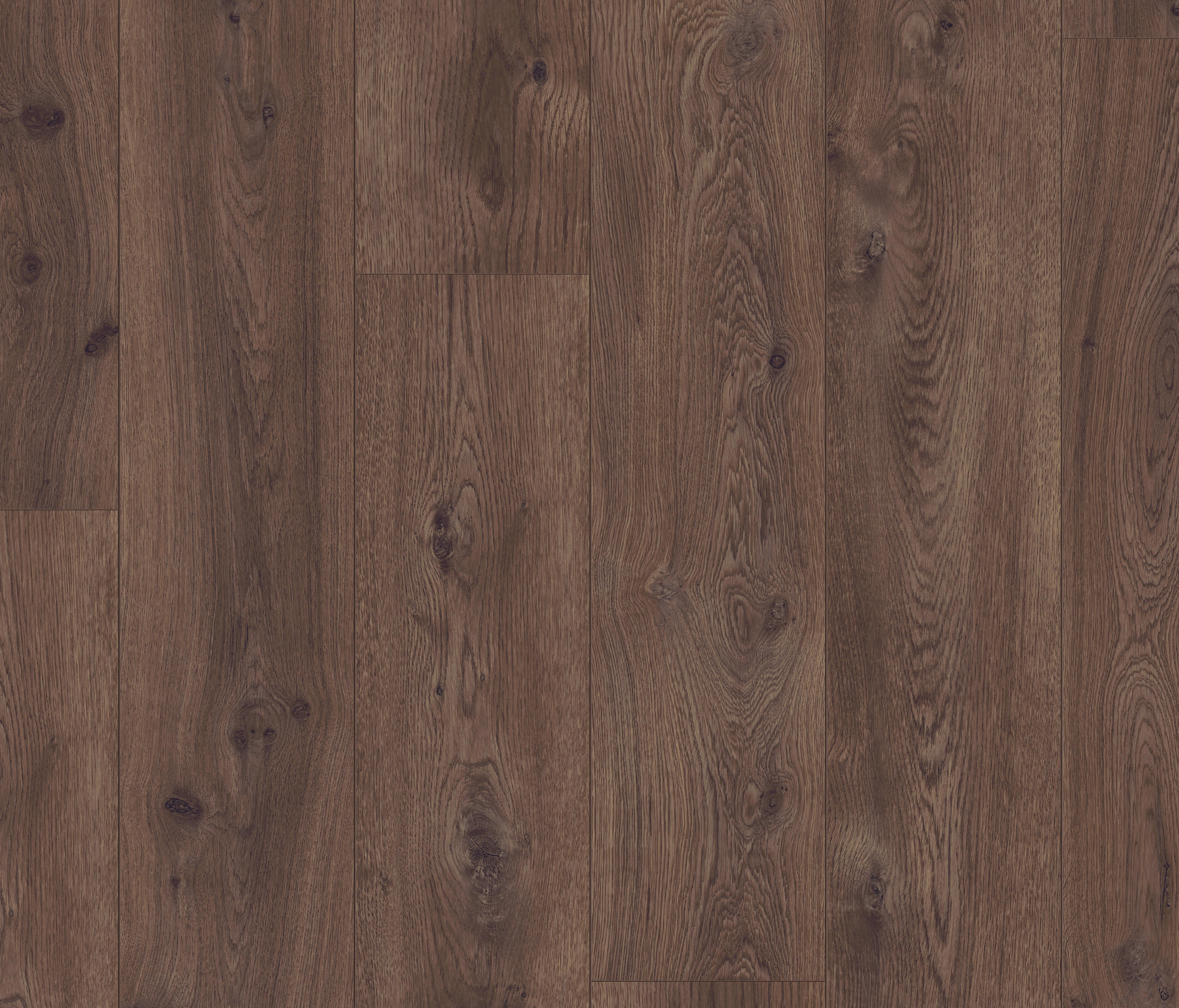 Long Plank Chocolate Oak Laminate Flooring From Pergo