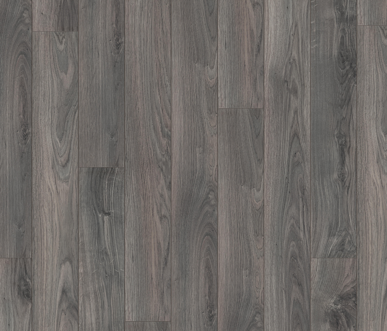 Plank Dark Grey Oak Laminate Flooring From Pergo