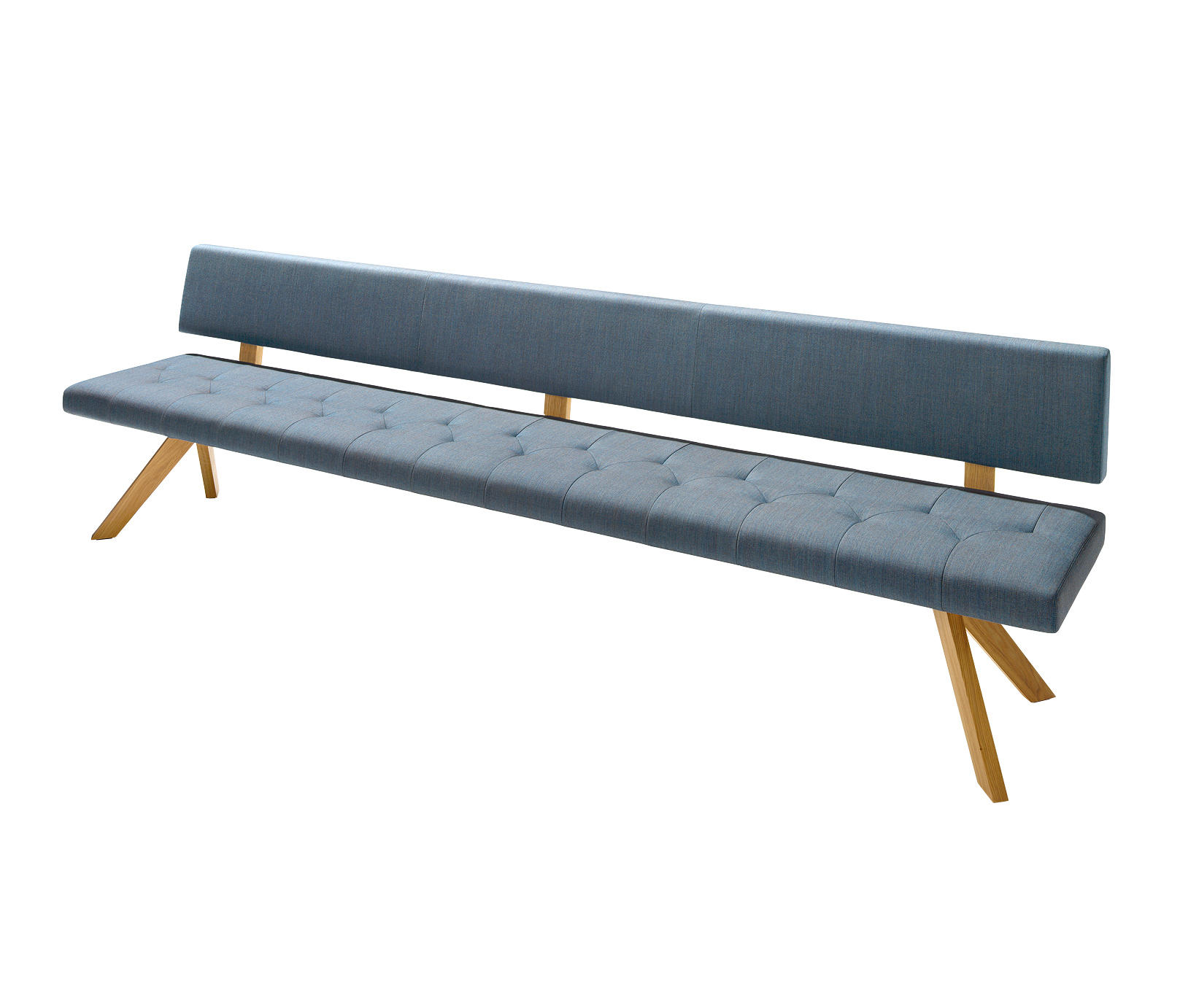 Yps bench benches from team 7 architonic - Banc pour table a manger ...