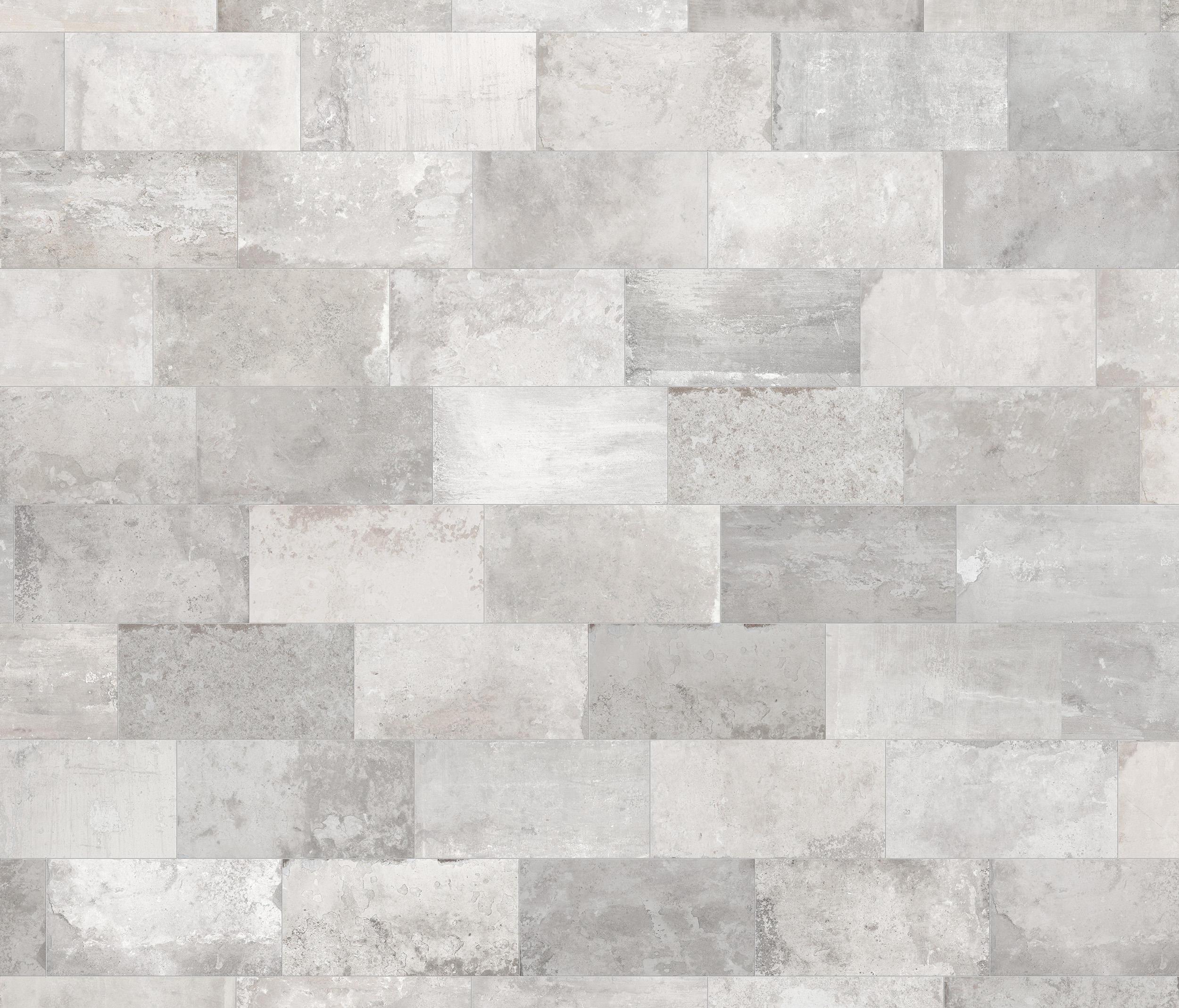 Betonbrick Floor White Grey Ceramic Tiles From Terratinta Group