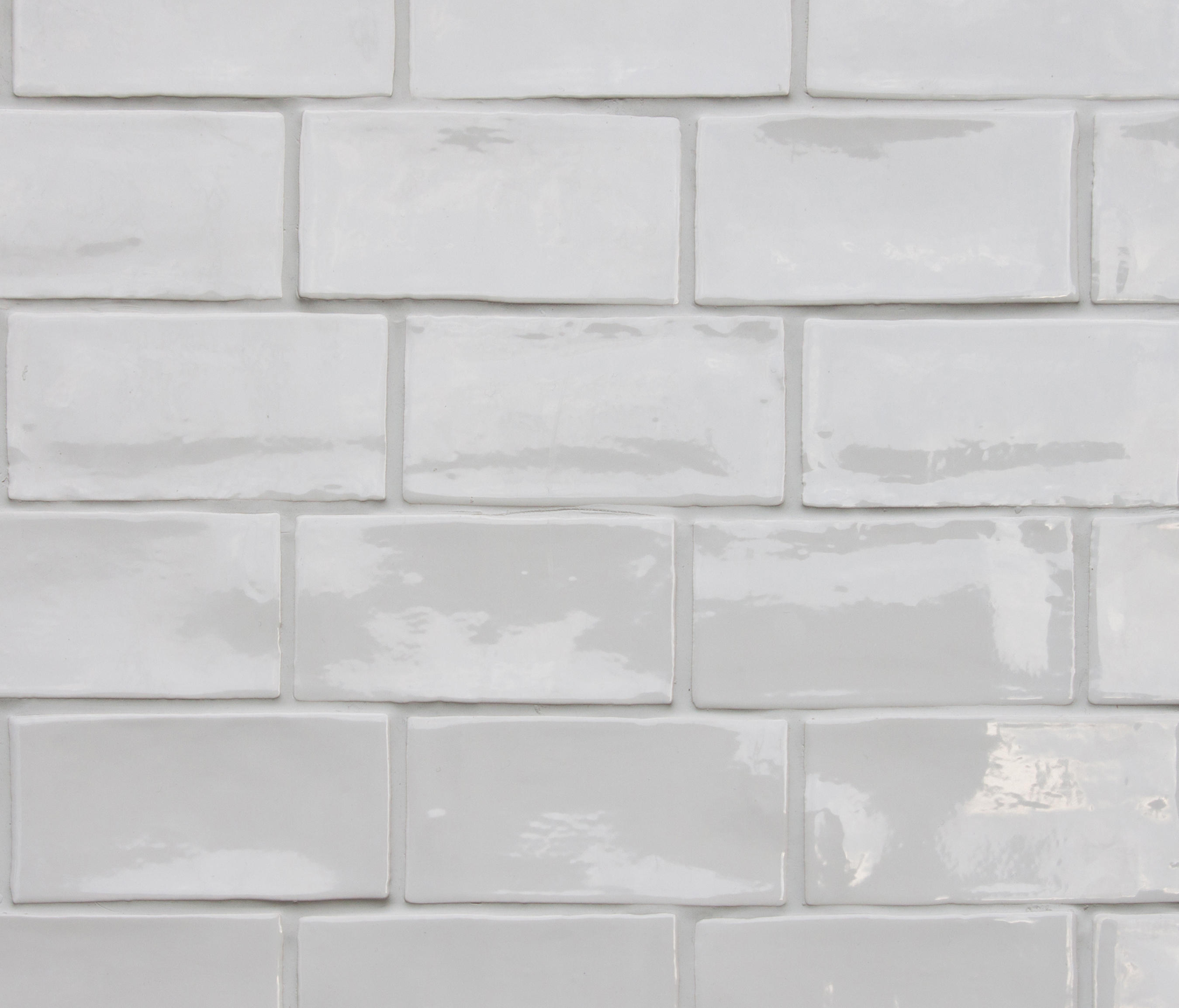 Betonbrick Wall White Glossy By Terratinta Group Ceramic Tiles