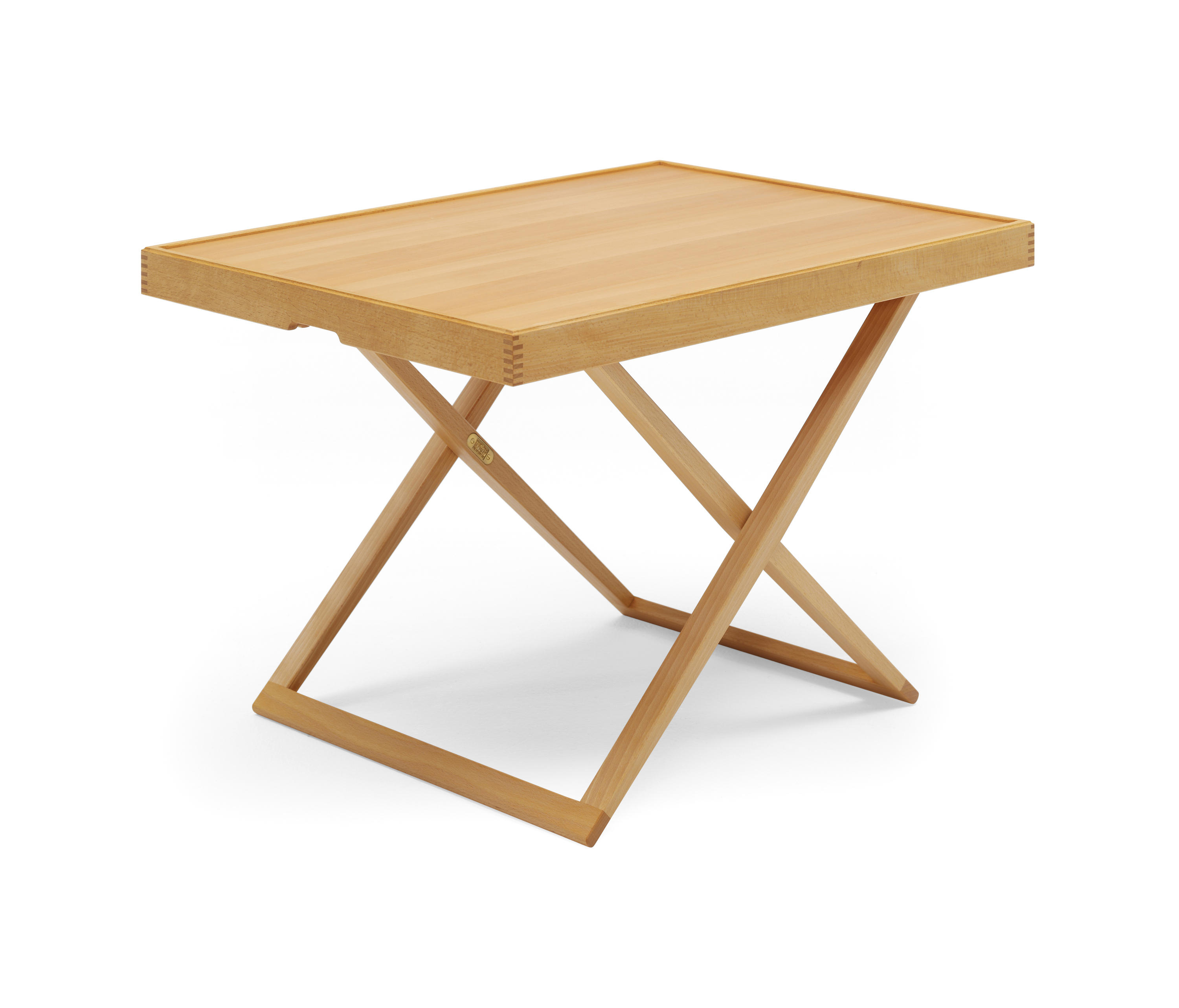 MK FOLDING TABLE Side tables from Carl Hansen & S¸n