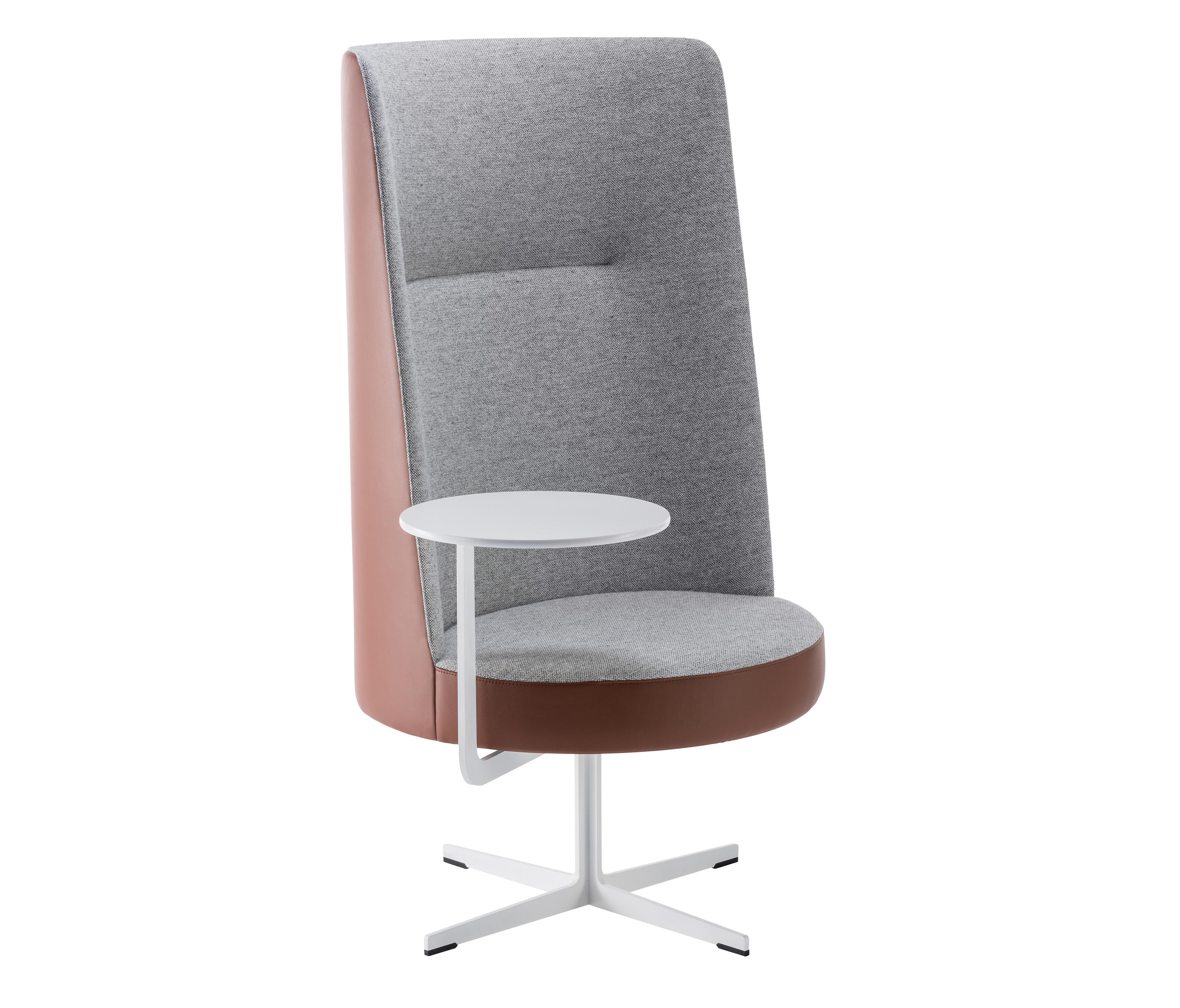 Banc high back chair bc 040 lounge chairs from brunner for Sessel schmal hoch