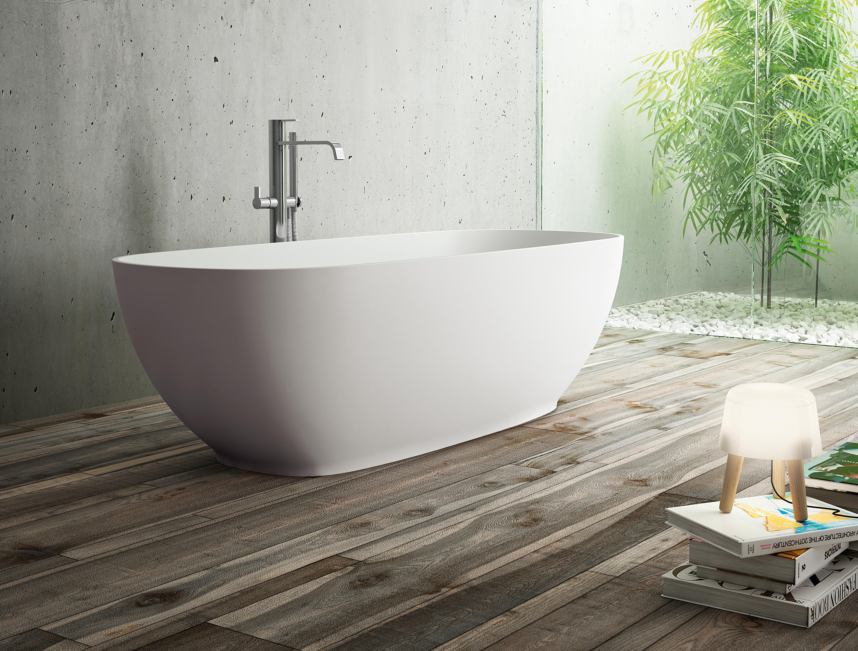Oval freestanding bathtubs from idea group architonic - Vasca da bagno angolare ...