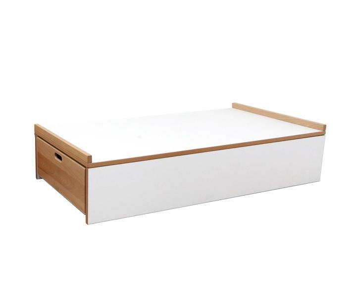 einzel schlafpodest kinderbetten liegen von de breuyn. Black Bedroom Furniture Sets. Home Design Ideas