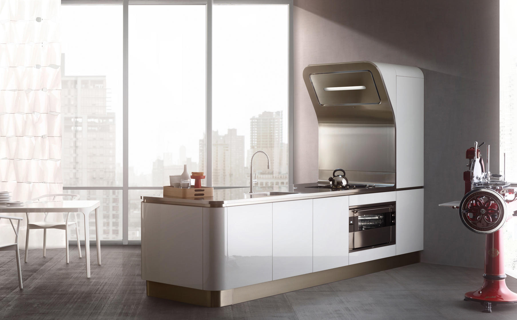 LIQUIDA FLIPPER - Compact kitchens from Veneta Cucine | Architonic