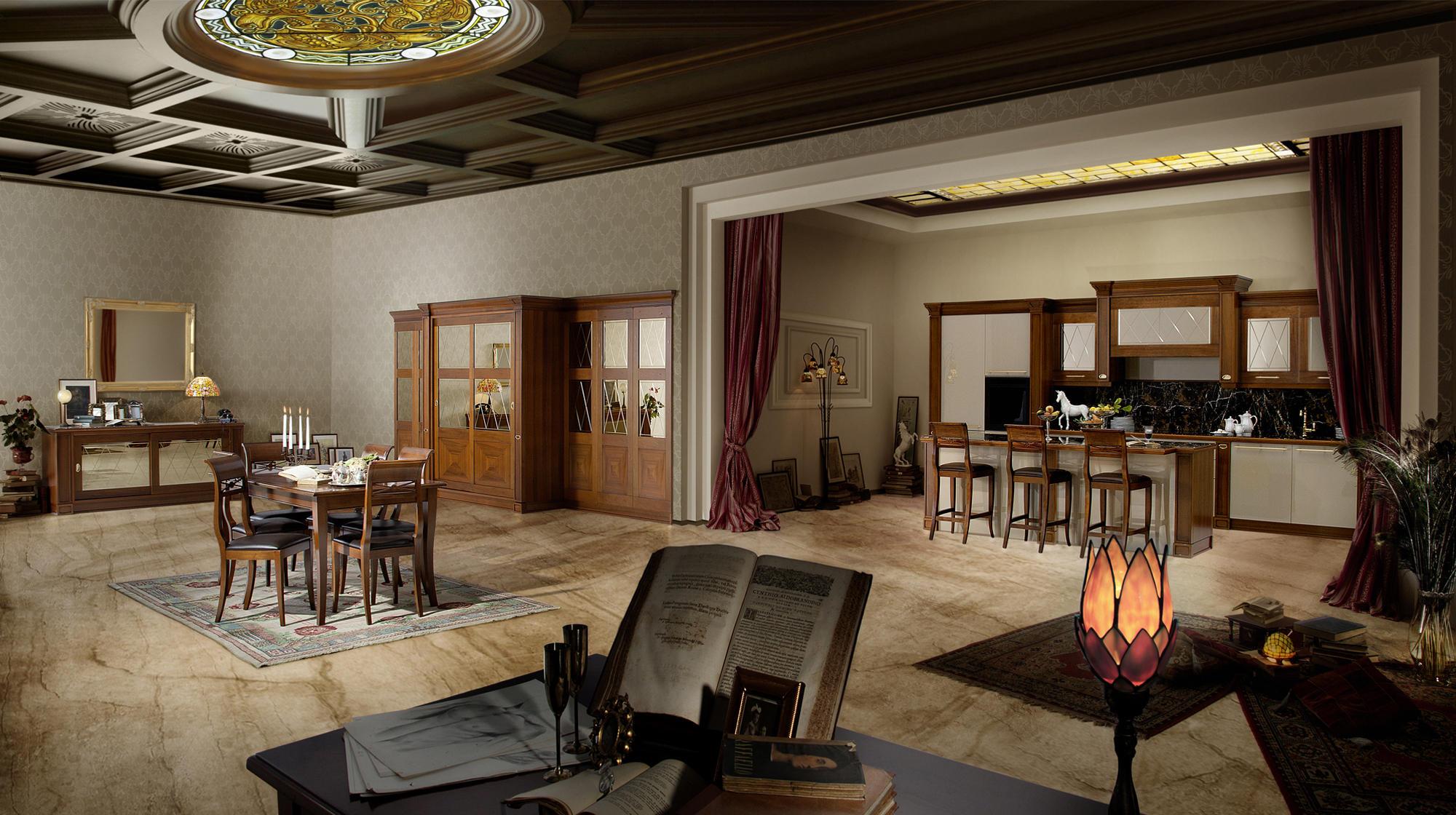 ca 39 veneta einbauk chen von veneta cucine architonic. Black Bedroom Furniture Sets. Home Design Ideas