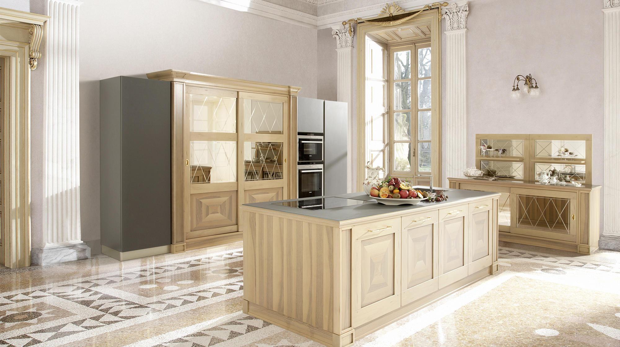 Ca' Veneta Einbauküchen Von Veneta Cucine ARCHITONIC #9A6D31 2000 1120 Veneta Cucine Ca D'oro