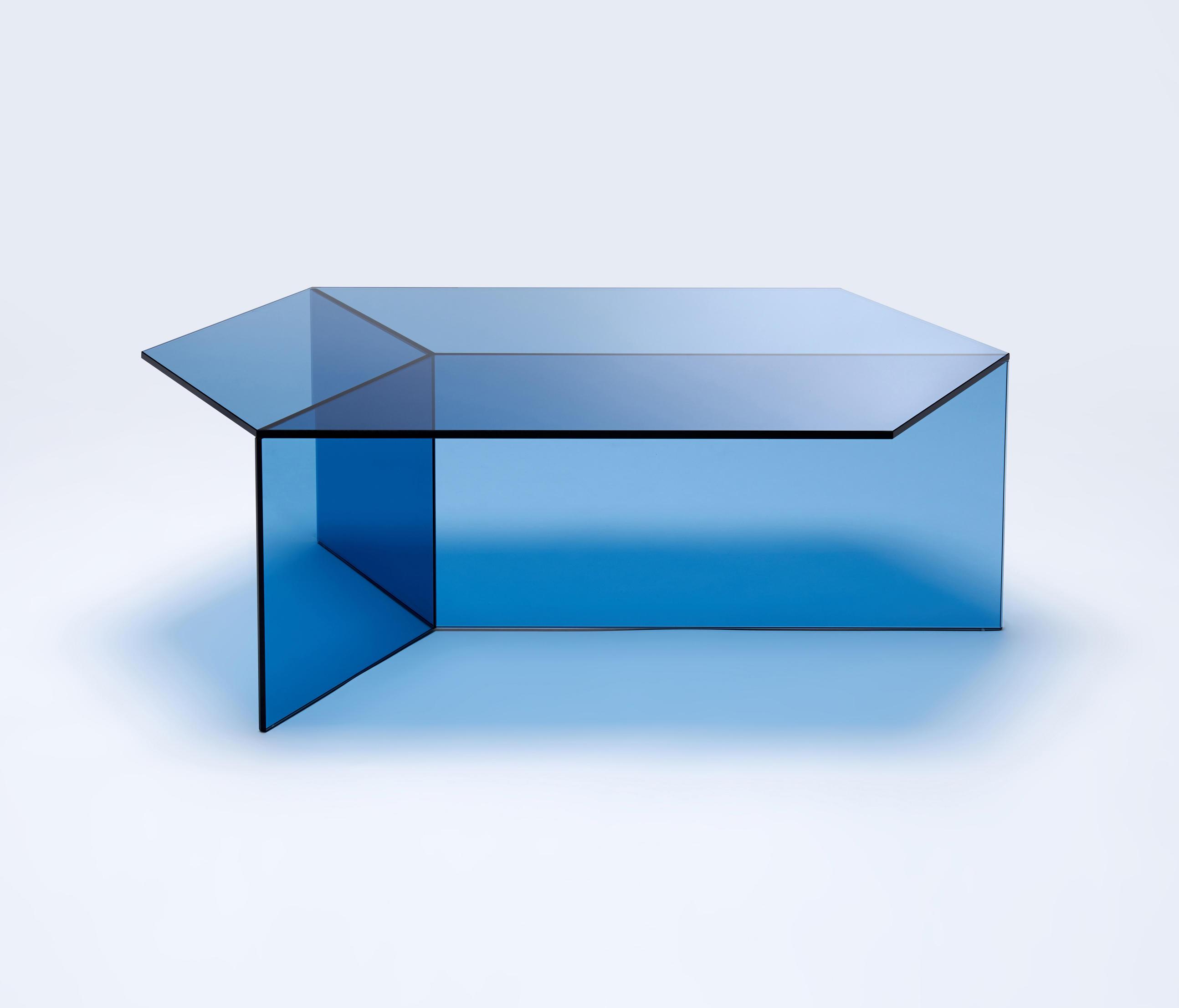 Isom Oblong Blue Designer Furniture Architonic