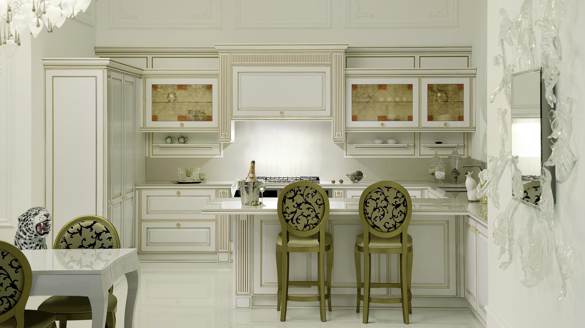 Mirabeau cucine a parete veneta cucine architonic - Cucine a parete ...