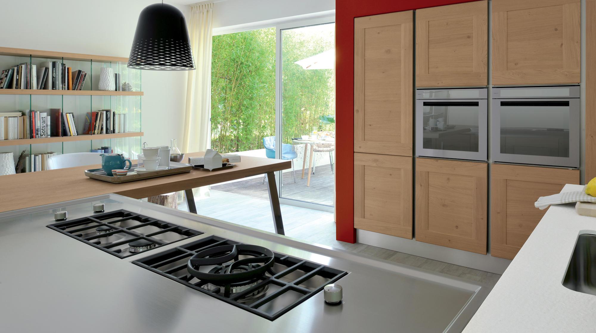 dialogo shellsystem cucine a isola veneta cucine architonic. Black Bedroom Furniture Sets. Home Design Ideas