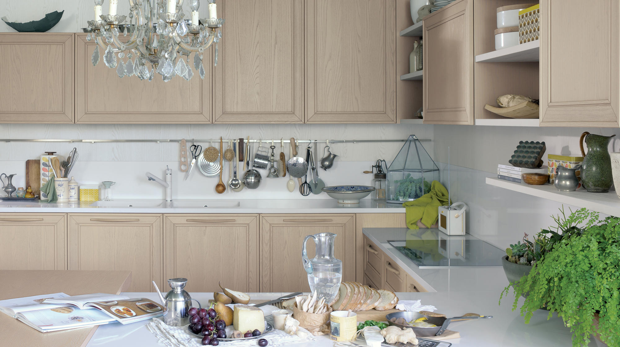 Elegante cucine a parete veneta cucine architonic - Cucine a parete ...