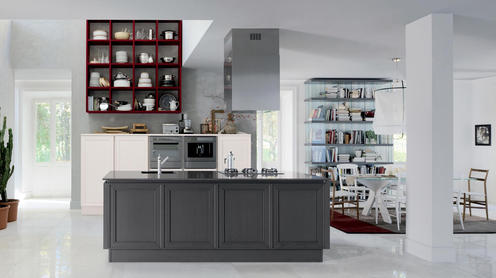 Veneta Cucine Elegante.Elegante Shellsystem Island Kitchens From Veneta Cucine