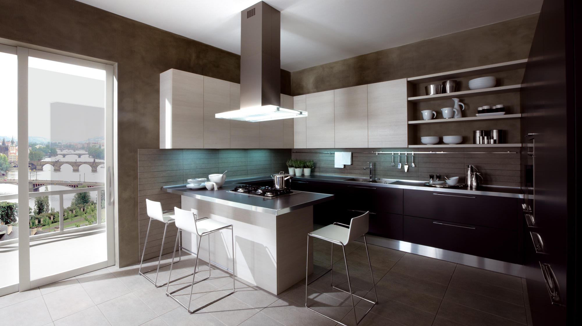ethica decorativo island kitchens from veneta cucine architonic. Black Bedroom Furniture Sets. Home Design Ideas