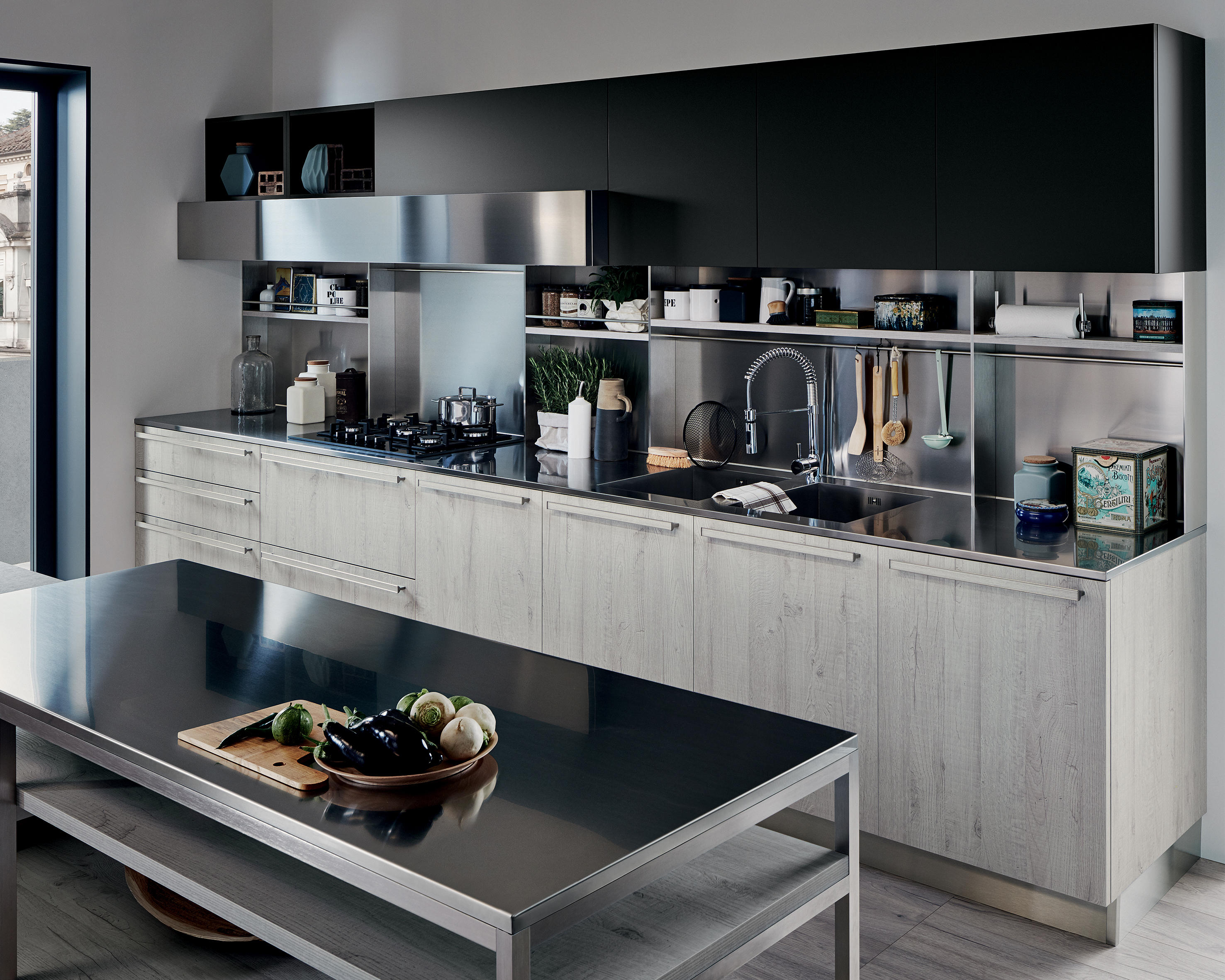 Ethica Fitted Kitchens From Veneta Cucine Architonic