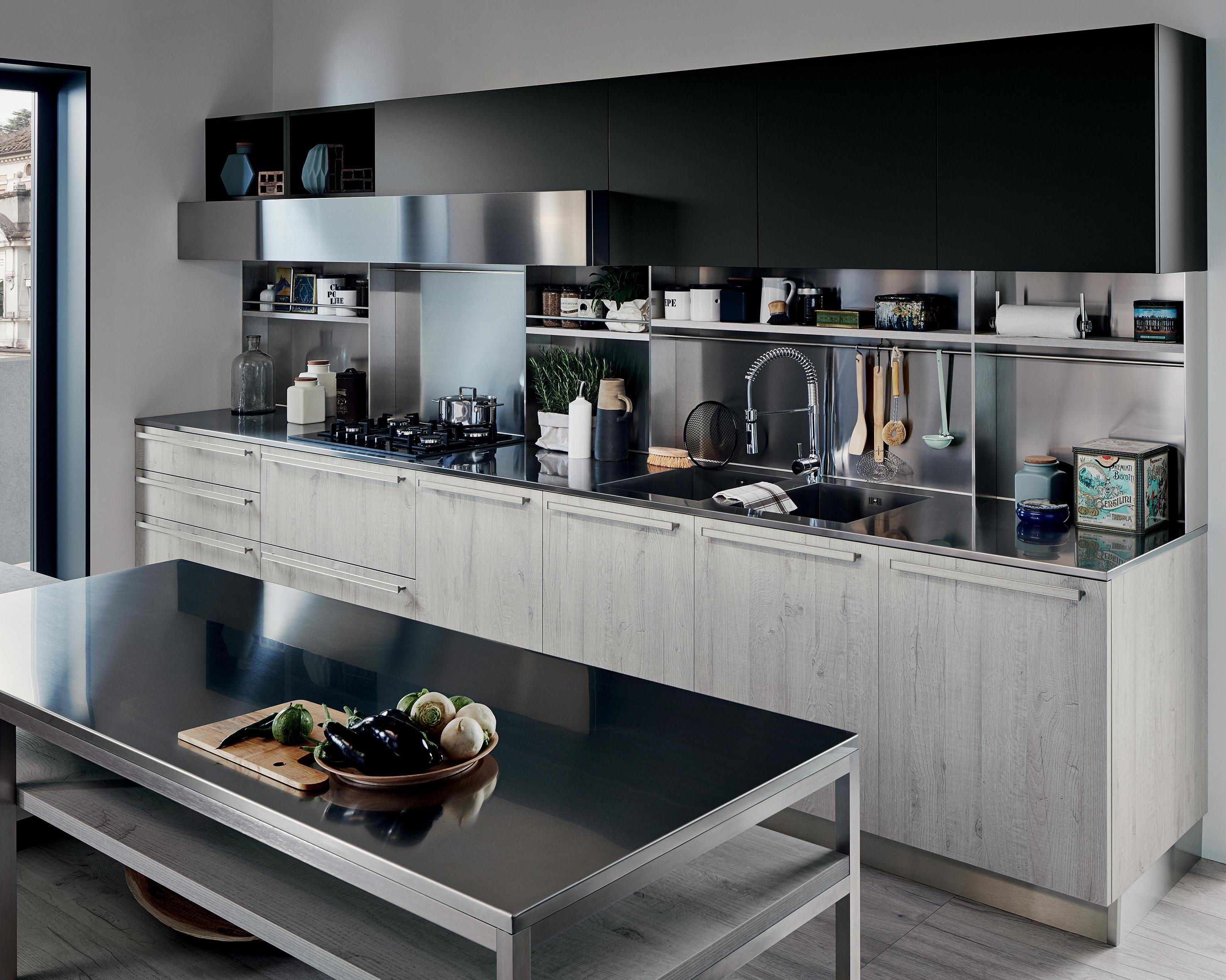 Ethica cucine a parete veneta cucine architonic - Cucine a parete ...