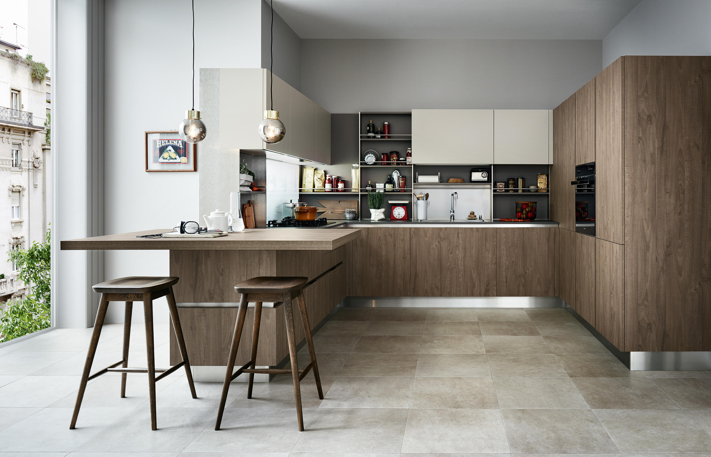 ethica go fitted kitchens from veneta cucine architonic. Black Bedroom Furniture Sets. Home Design Ideas