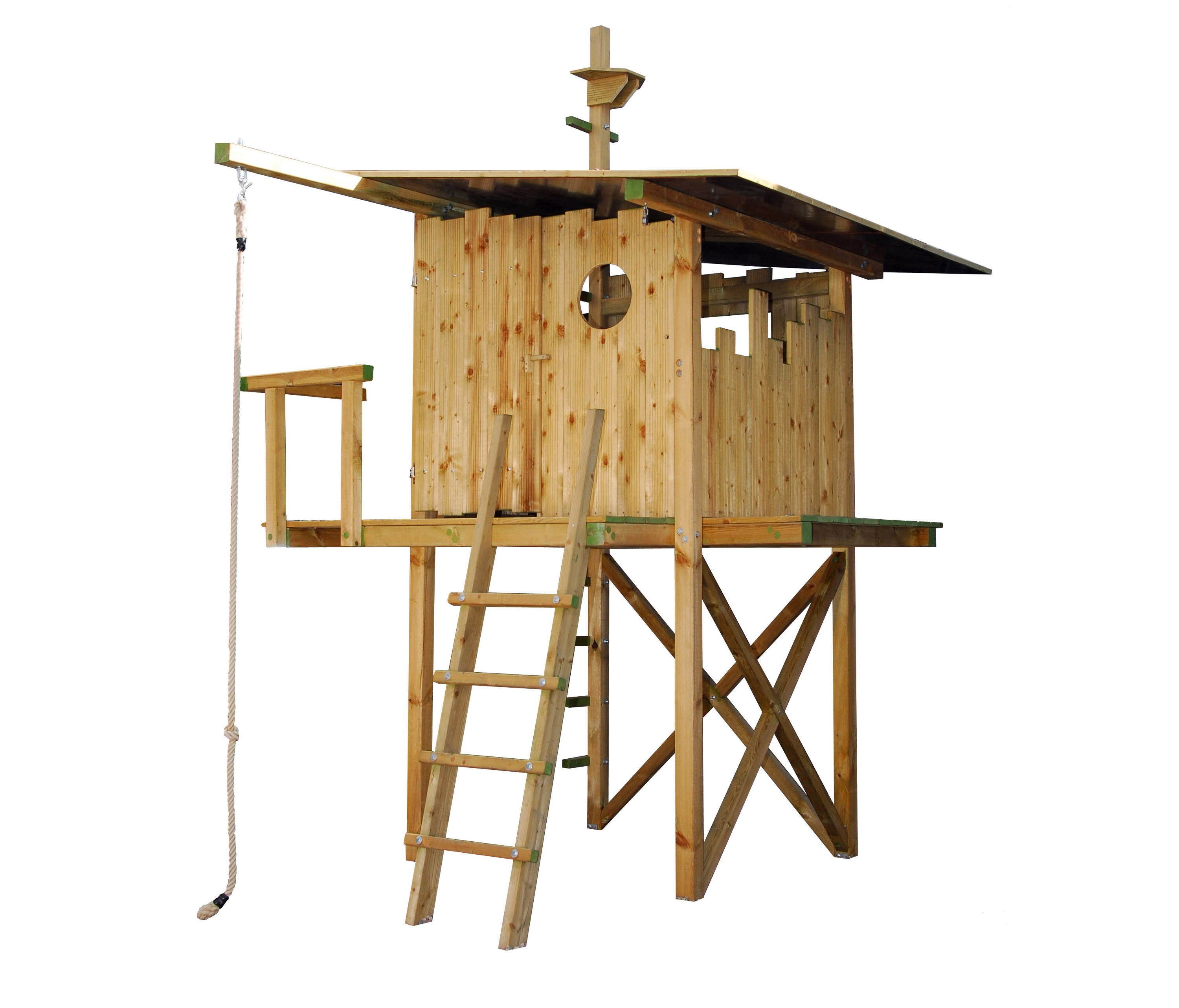 Terrific Brunos Tree House Play Equipment From De Breuyn Architonic Download Free Architecture Designs Scobabritishbridgeorg