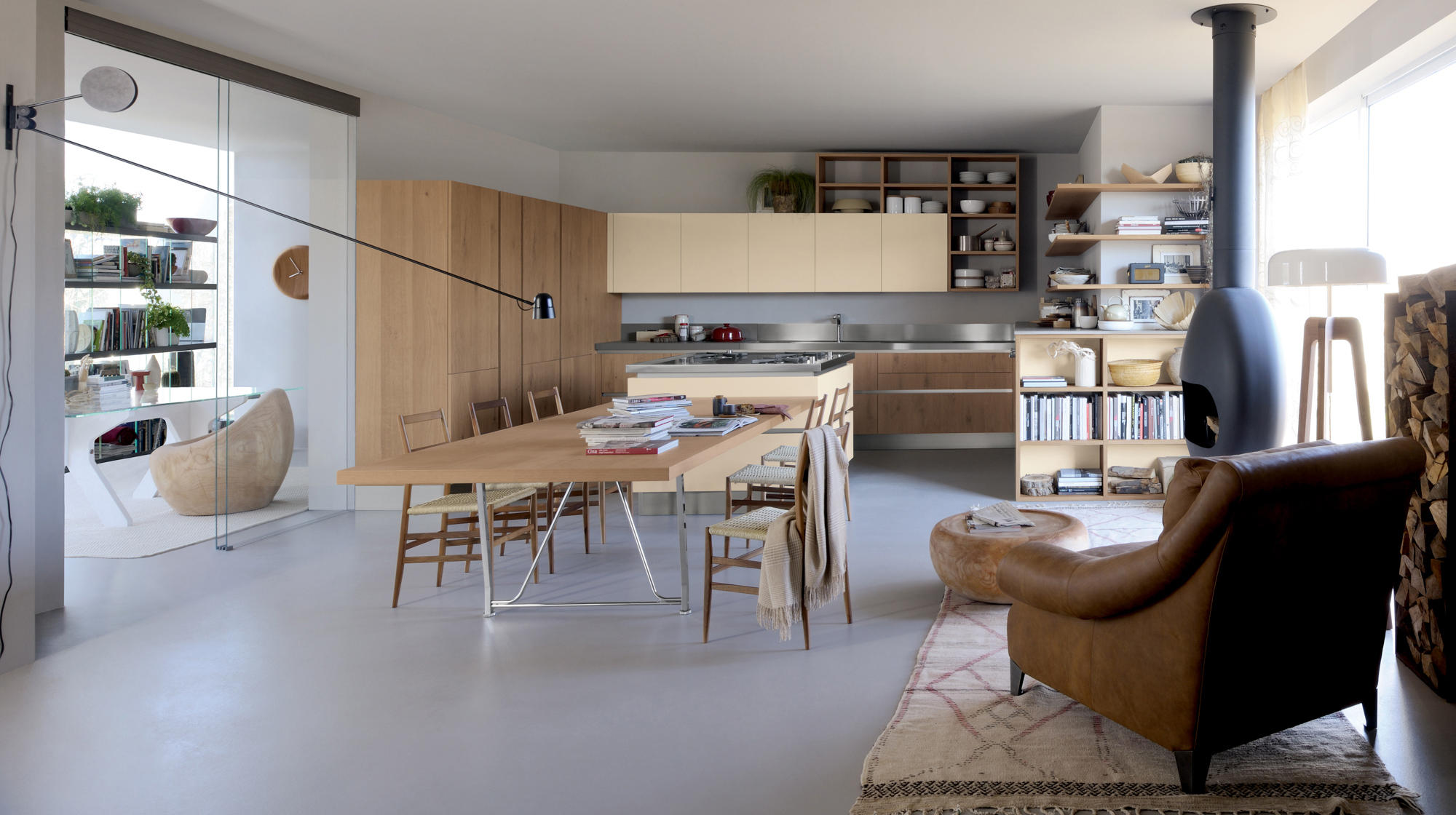 Oyster island kitchens from veneta cucine architonic for Cucina planner