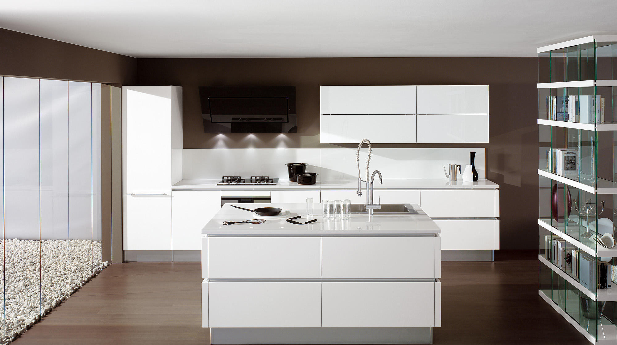Oyster island kitchens from veneta cucine architonic - Veneta cucine oyster ...
