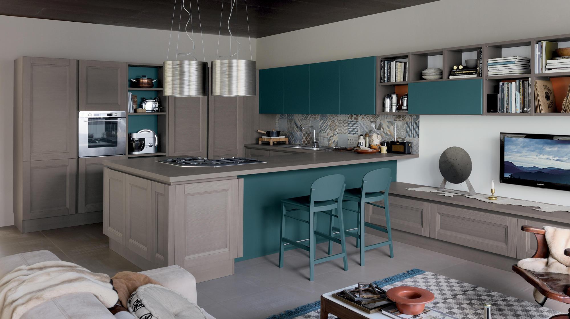 Vintage shellsystem fitted kitchens from veneta cucine - Veneta cucine ...