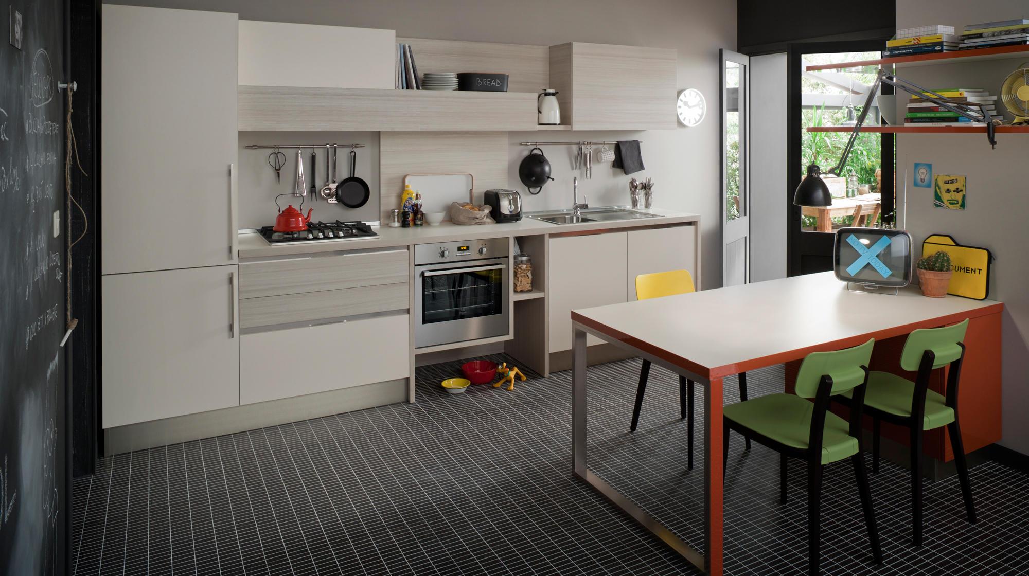 Start time go cucine a parete veneta cucine architonic - Cucine a parete ...