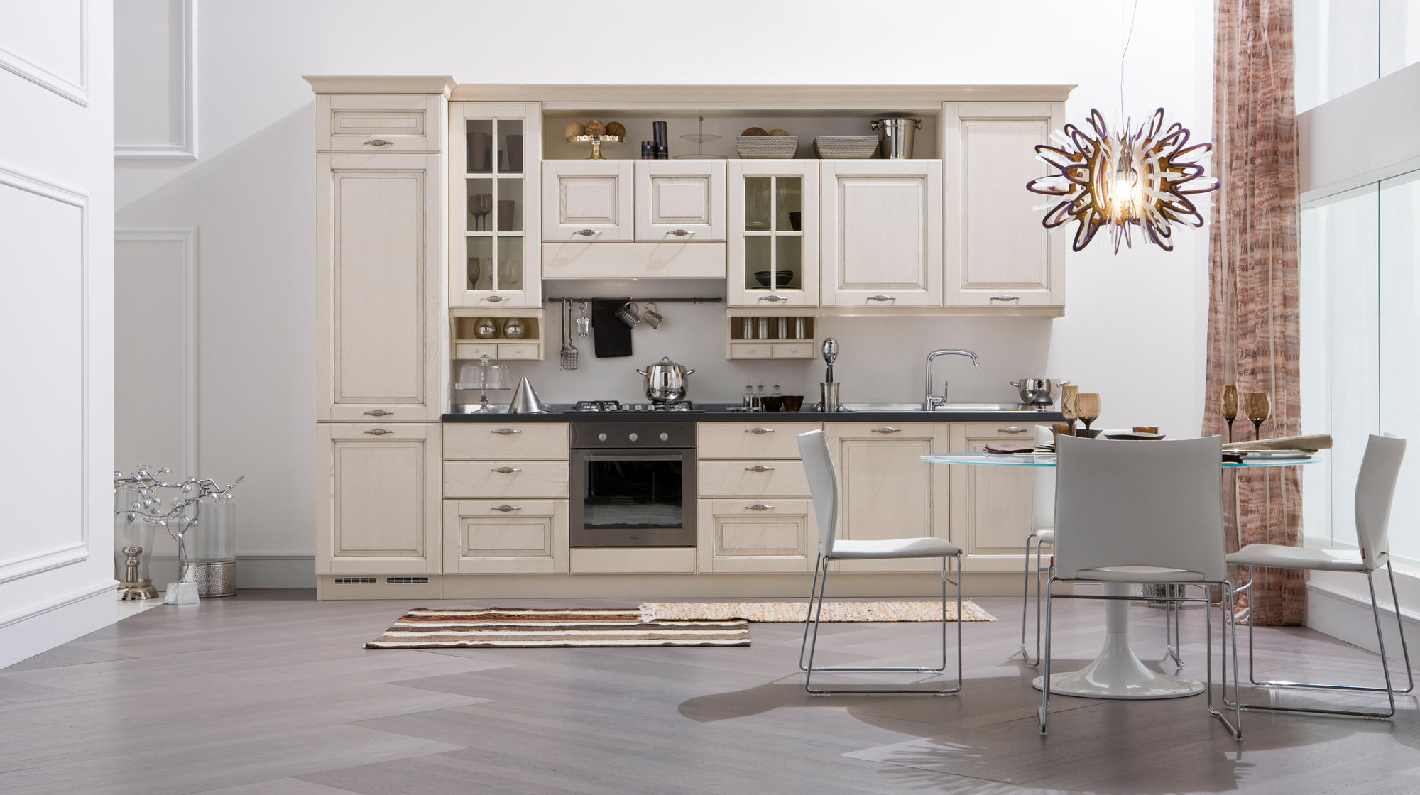 memory fitted kitchens from veneta cucine architonic. Black Bedroom Furniture Sets. Home Design Ideas