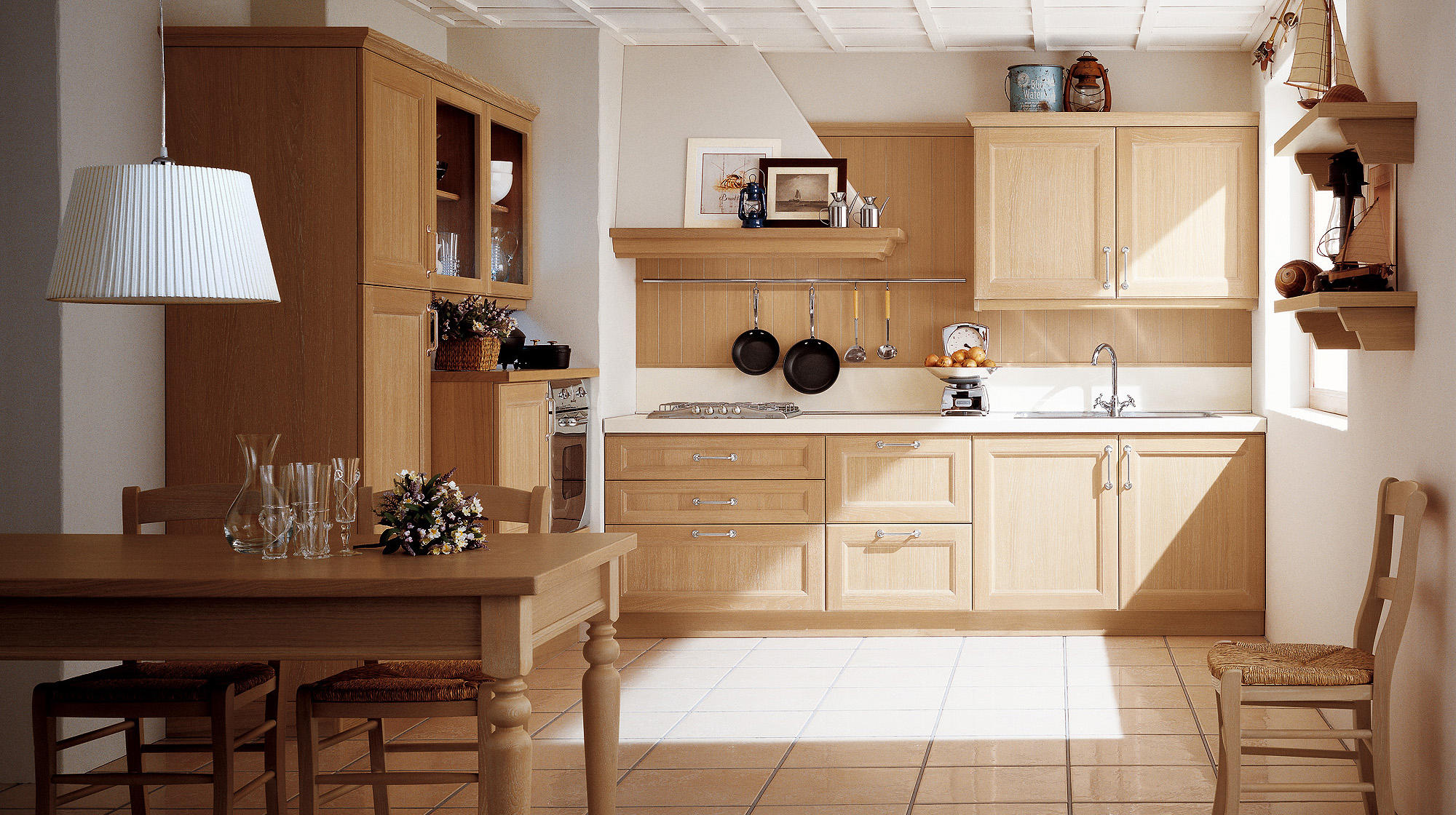 newport fitted kitchens from veneta cucine architonic. Black Bedroom Furniture Sets. Home Design Ideas