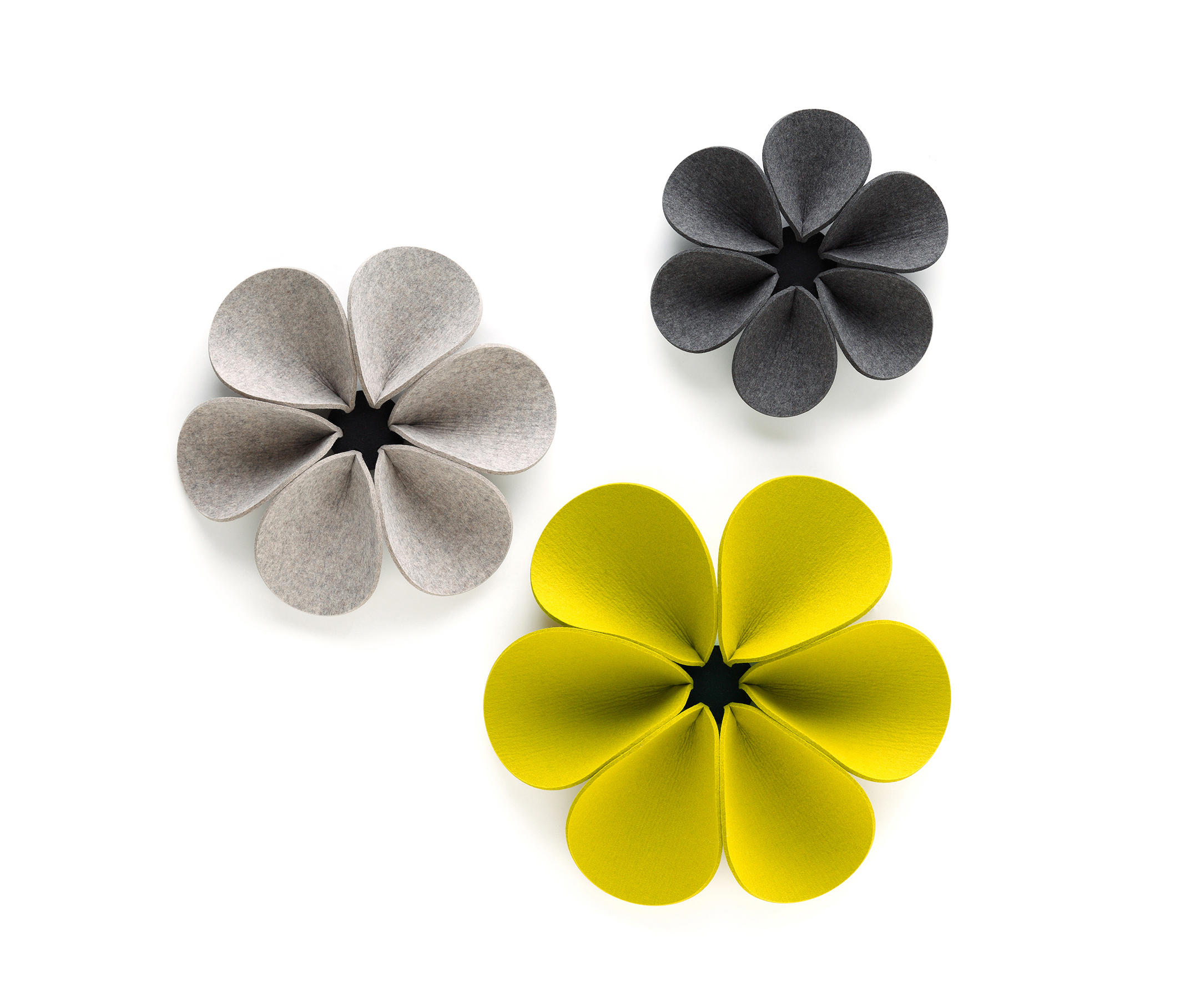 ACOUSTIC ELEMENT SILENT FLOWER - Wall decoration from HEY-SIGN ...