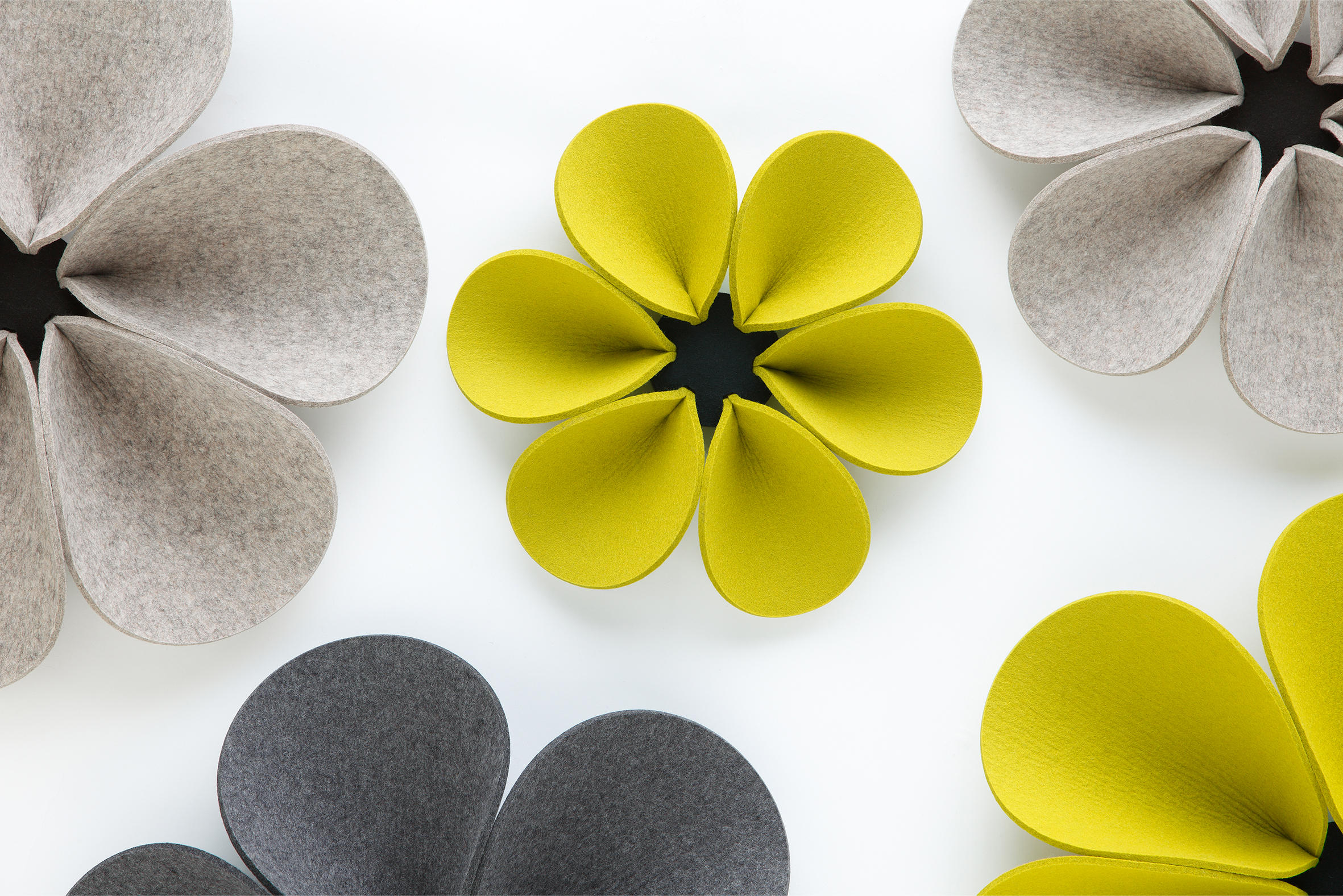 acoustic element silent flower sound absorbing wall systems from