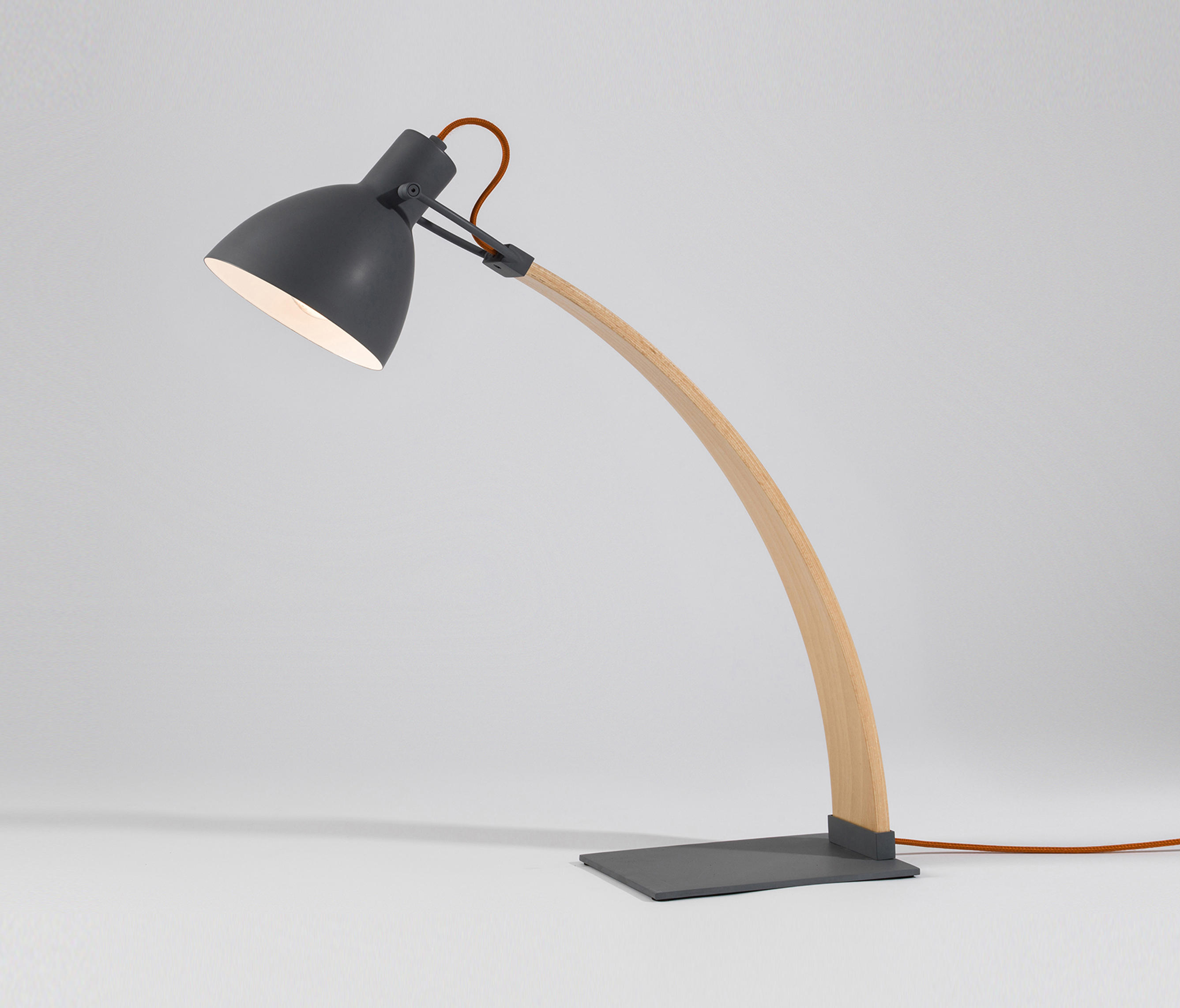 Laito Wood Desk Lamp Table Lights From Seeddesign Architonic
