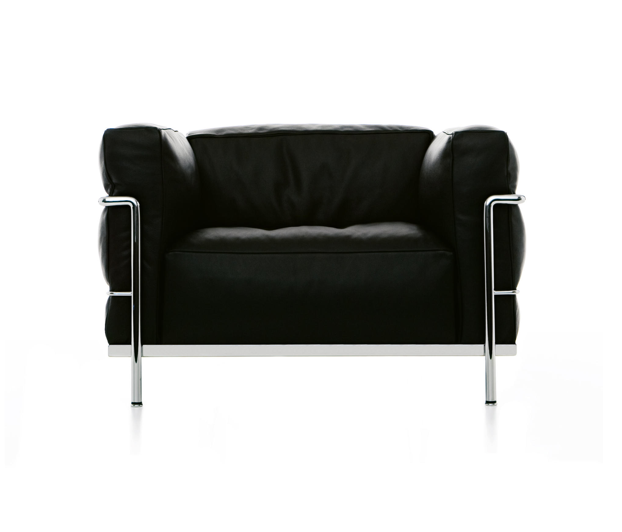 lc3 armchair lounge chairs from cassina architonic. Black Bedroom Furniture Sets. Home Design Ideas