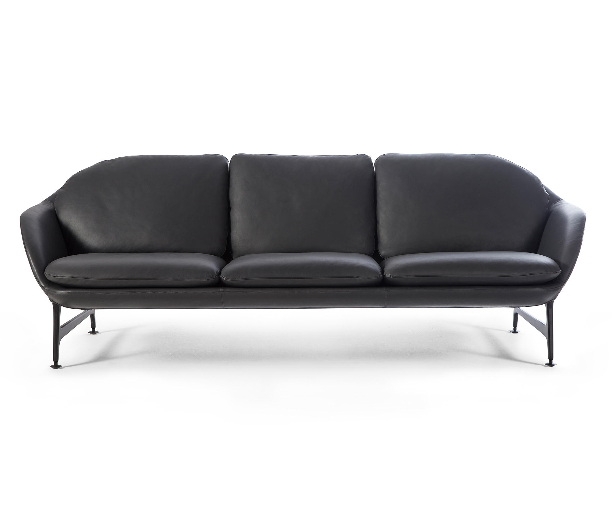 399 Vico 3 Seater Sofa Leather By Cina Sofas