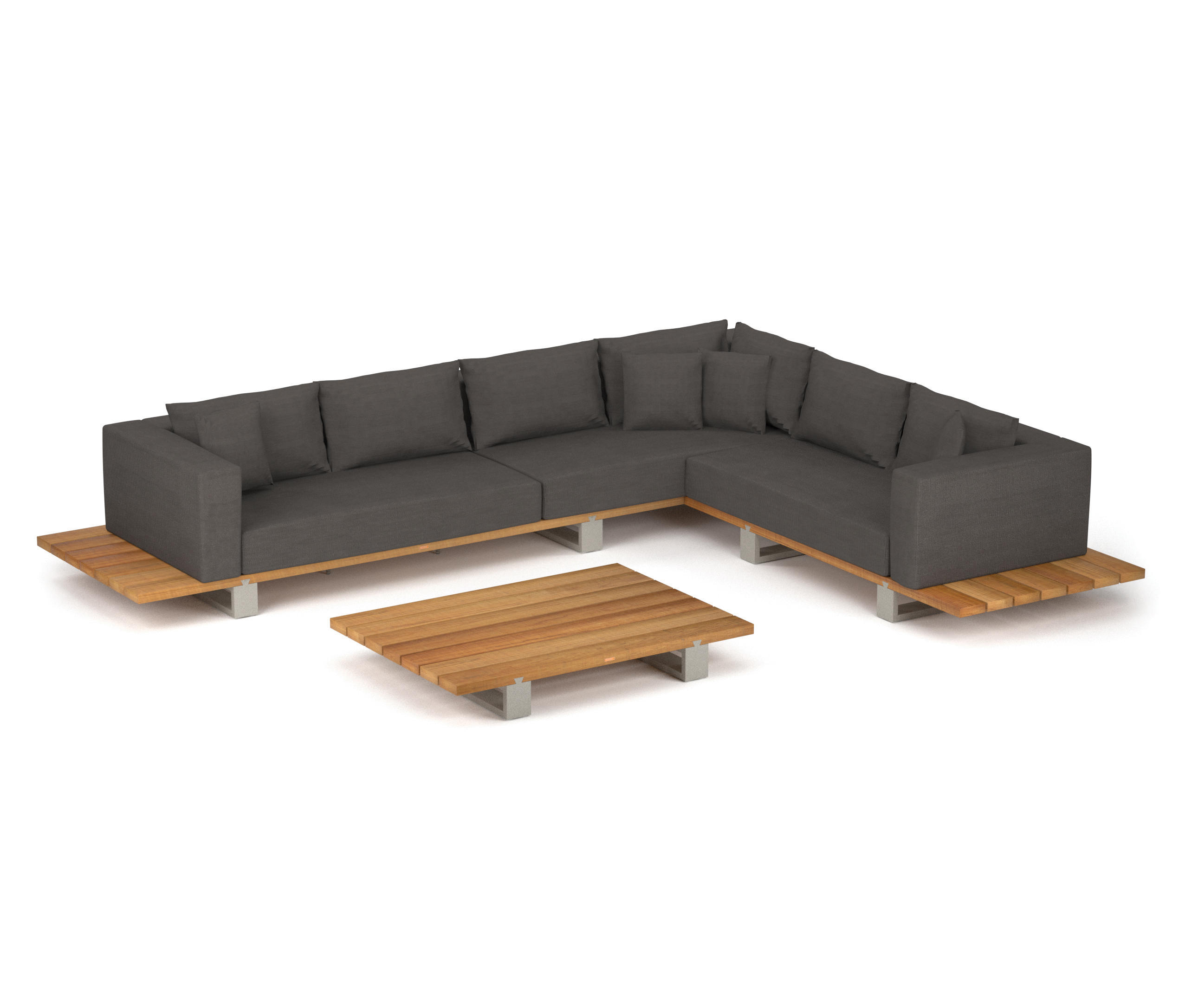 vigor lounge garden sofas from royal botania architonic. Black Bedroom Furniture Sets. Home Design Ideas