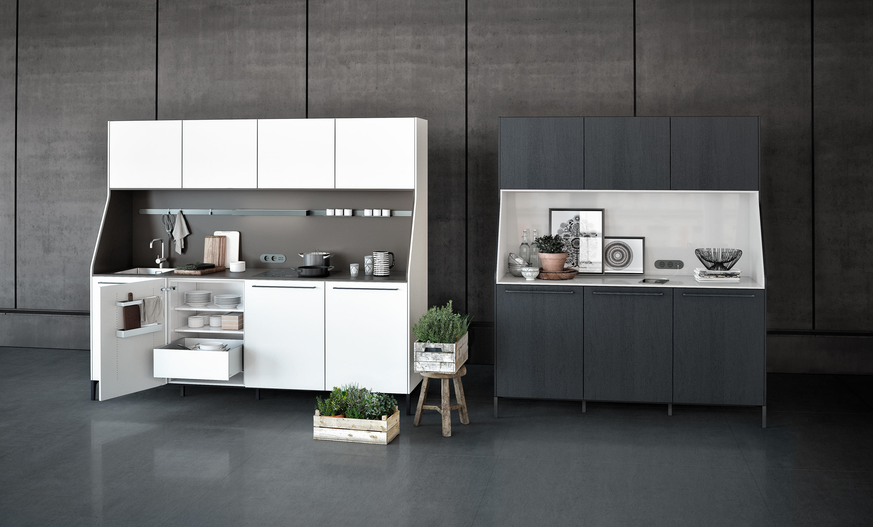 siematic 29 cocinas compactas de siematic architonic. Black Bedroom Furniture Sets. Home Design Ideas