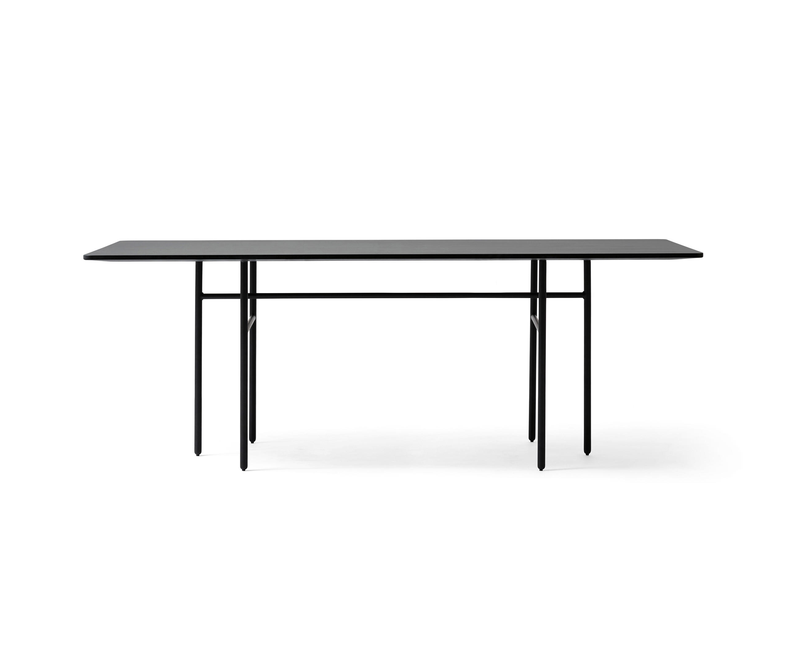 Snaregade Dining Table Rectangular Black Restaurant