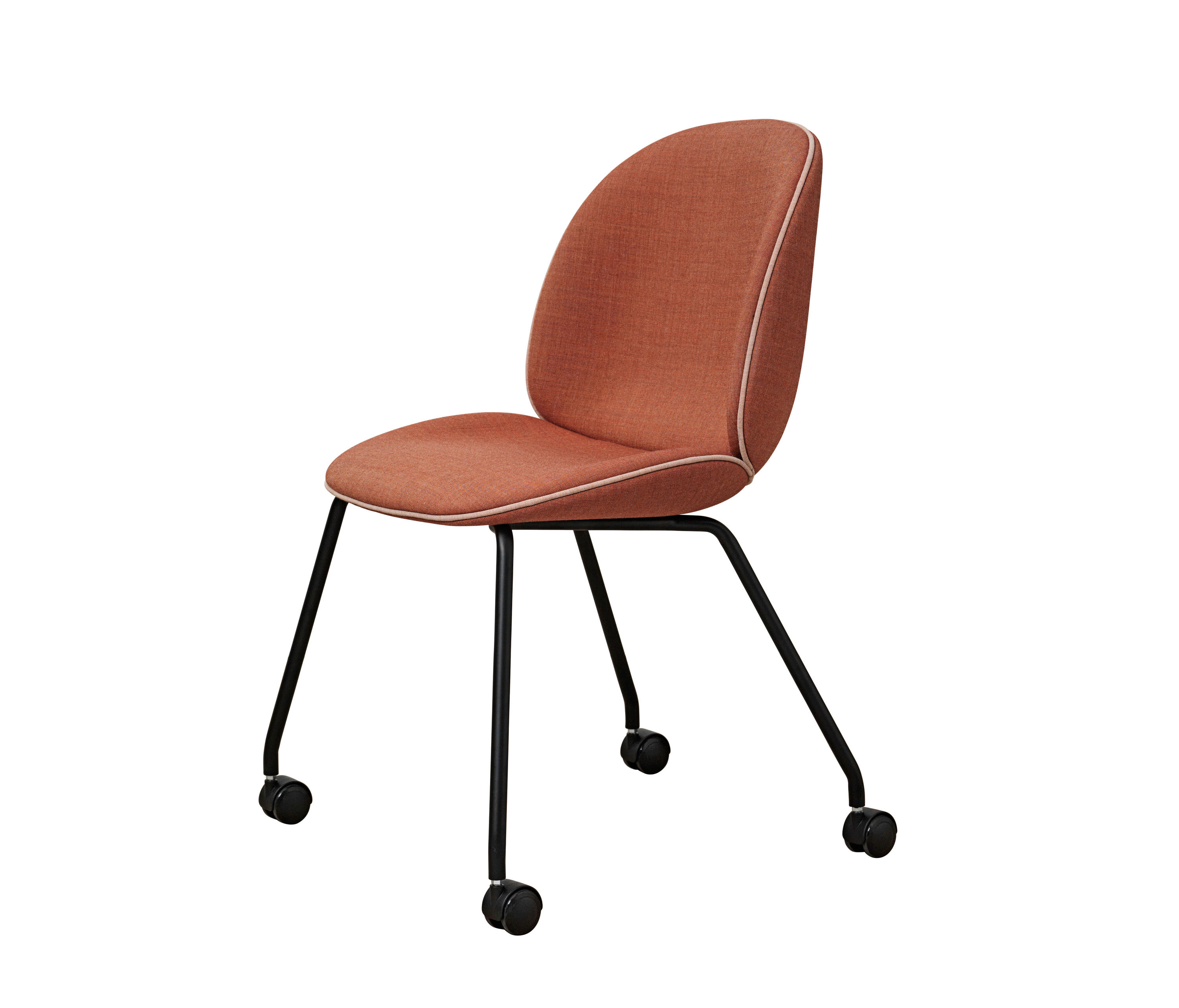 beetle castor chair chairs from gubi architonic. Black Bedroom Furniture Sets. Home Design Ideas